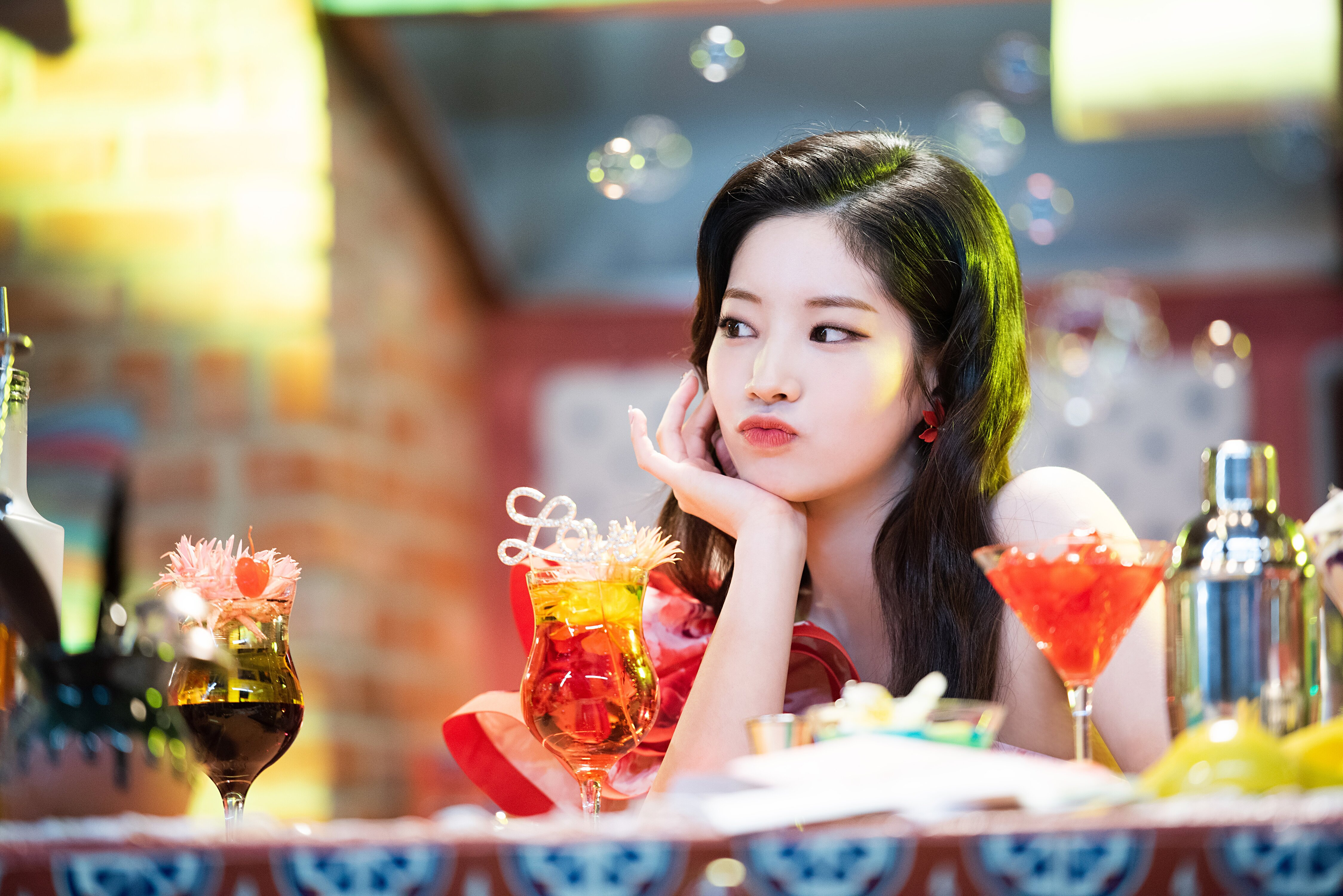 Twice Twice Dahyun Kim Dahyun K Pop Rapper Asian Korean Women 4495x3000