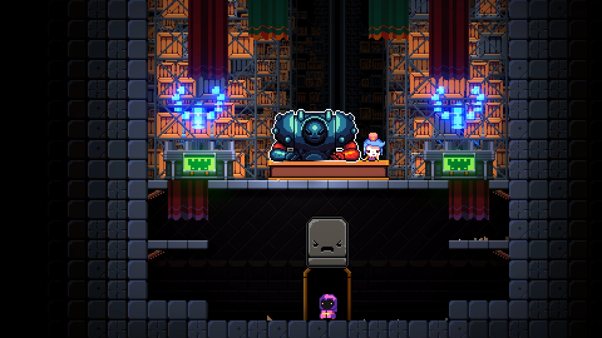 Video Game Exit The Gungeon 1920x1080