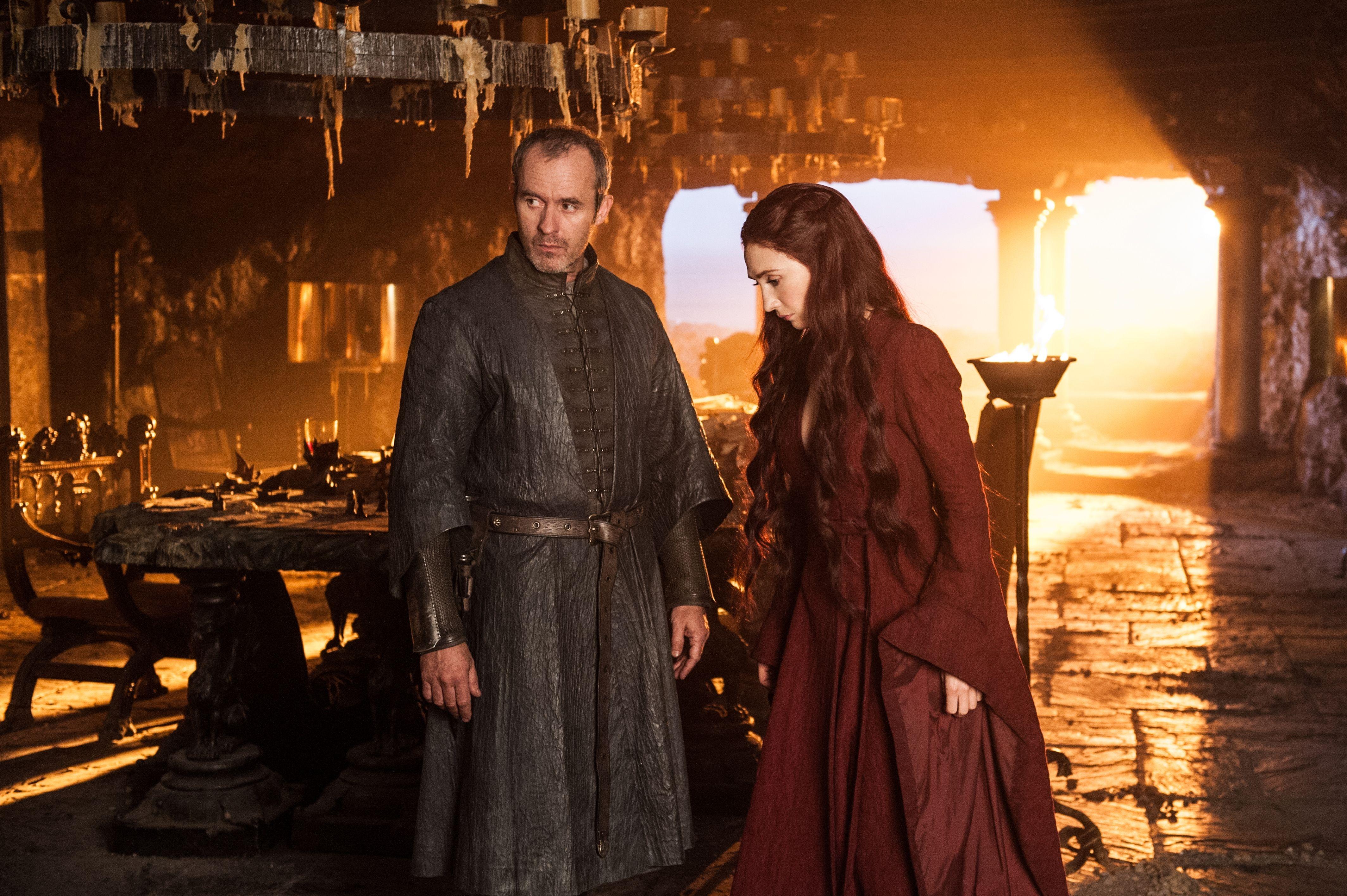 Stannis Baratheon Stephen Dillane Melisandre Game Of Thrones Carice Van Houten 4256x2832