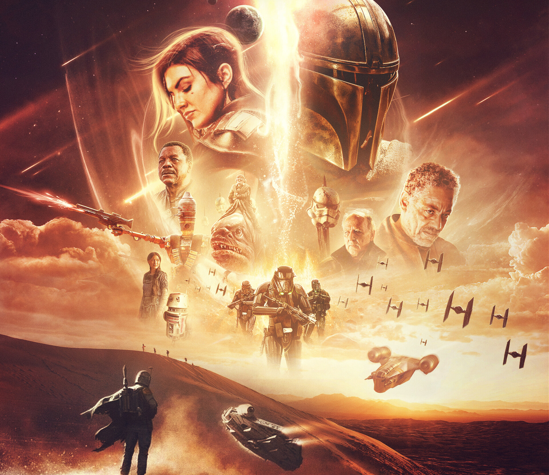 The Mandalorian Star Wars TV Series 1920x1664