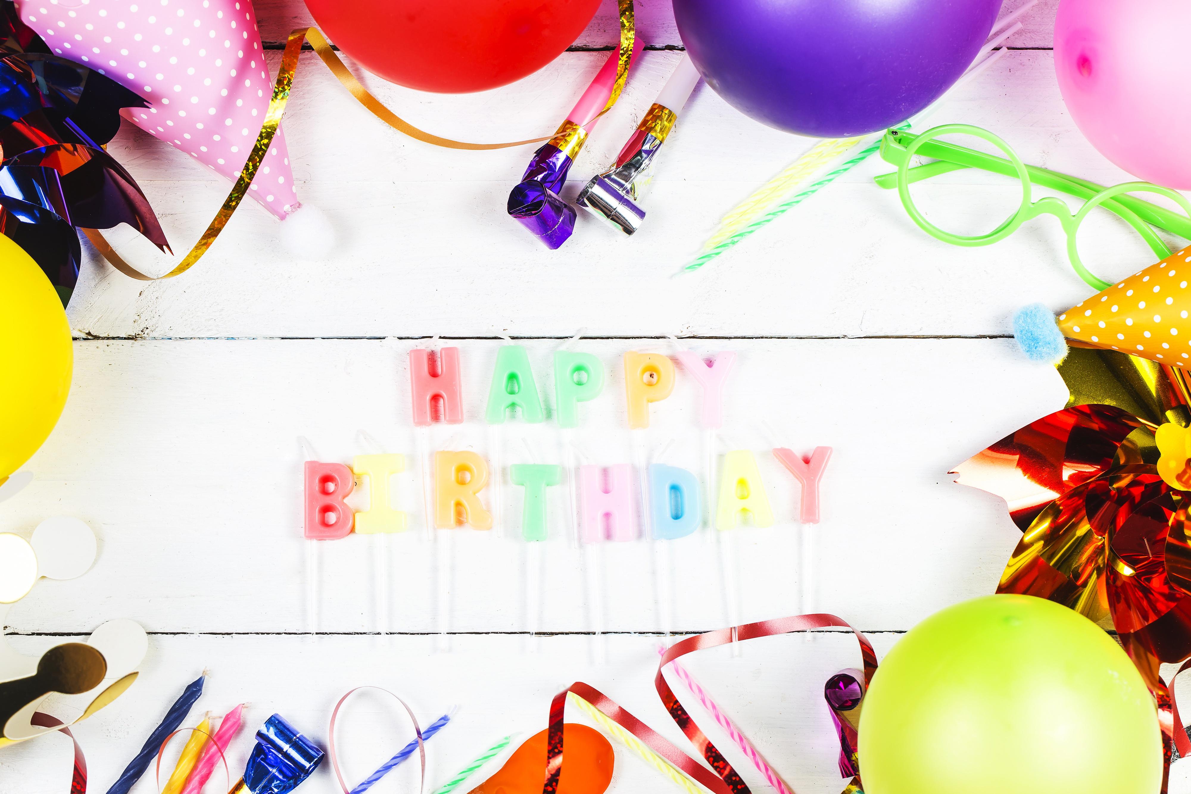 Happy Birthday Celebration Colorful 4000x2667
