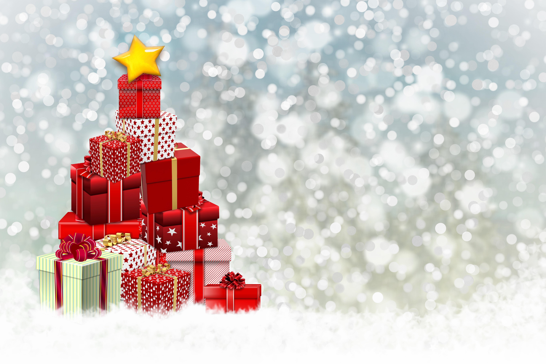 Christmas Tree Gift 6000x4000