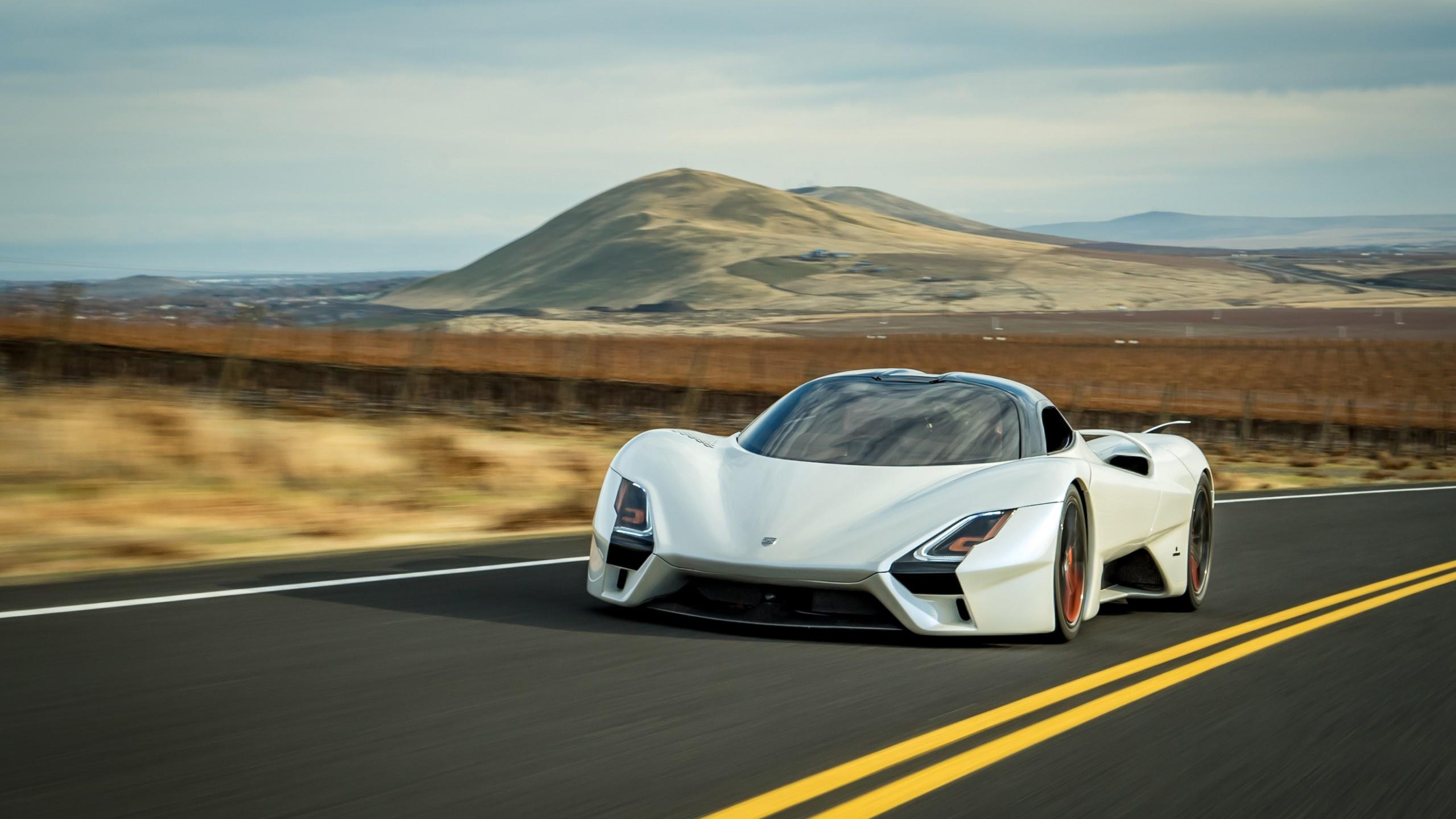 Car White Car Sport Car Supercar 2560x1440