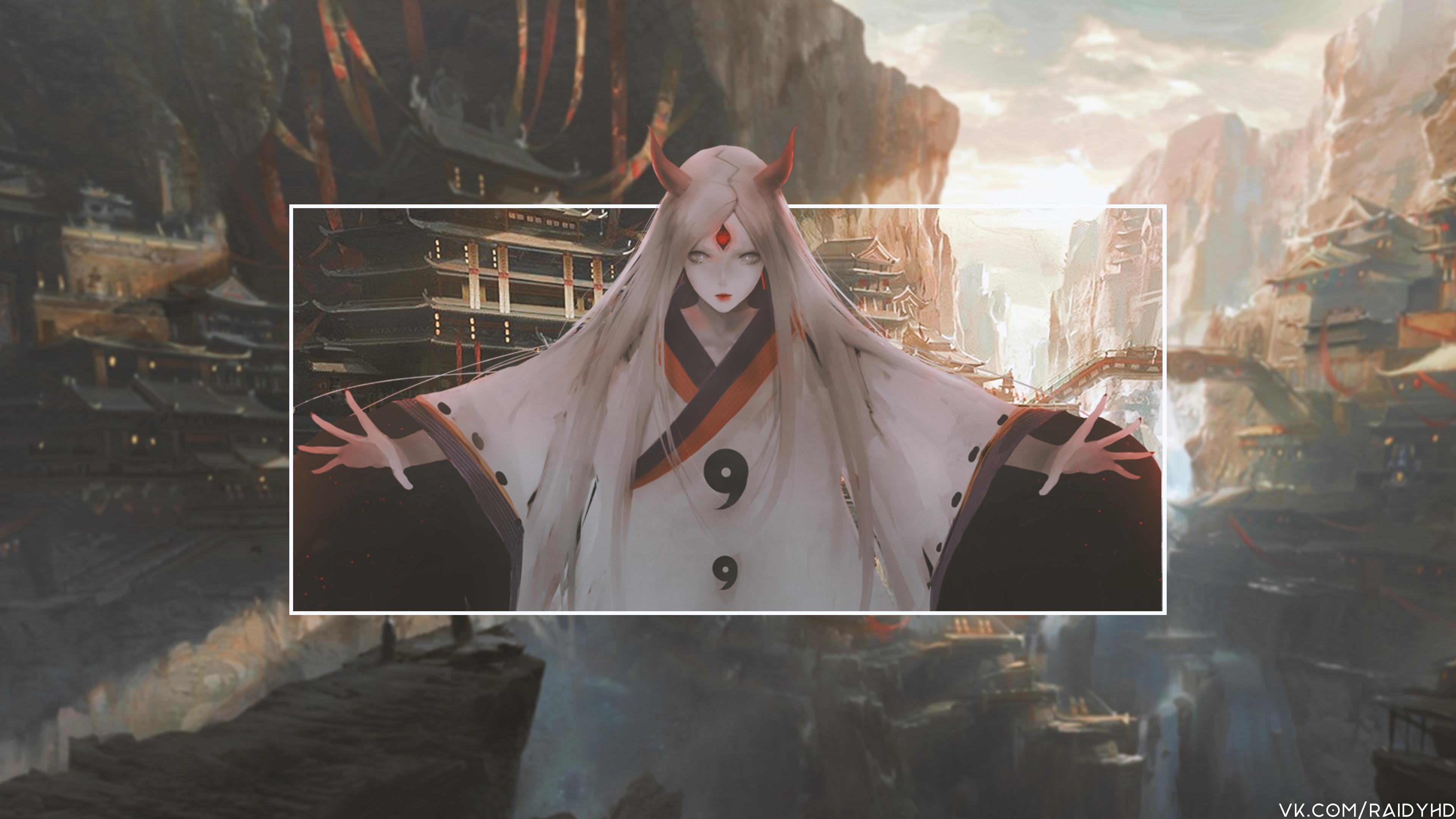 Kaguya Tsutsuki Naruto 3840x2160