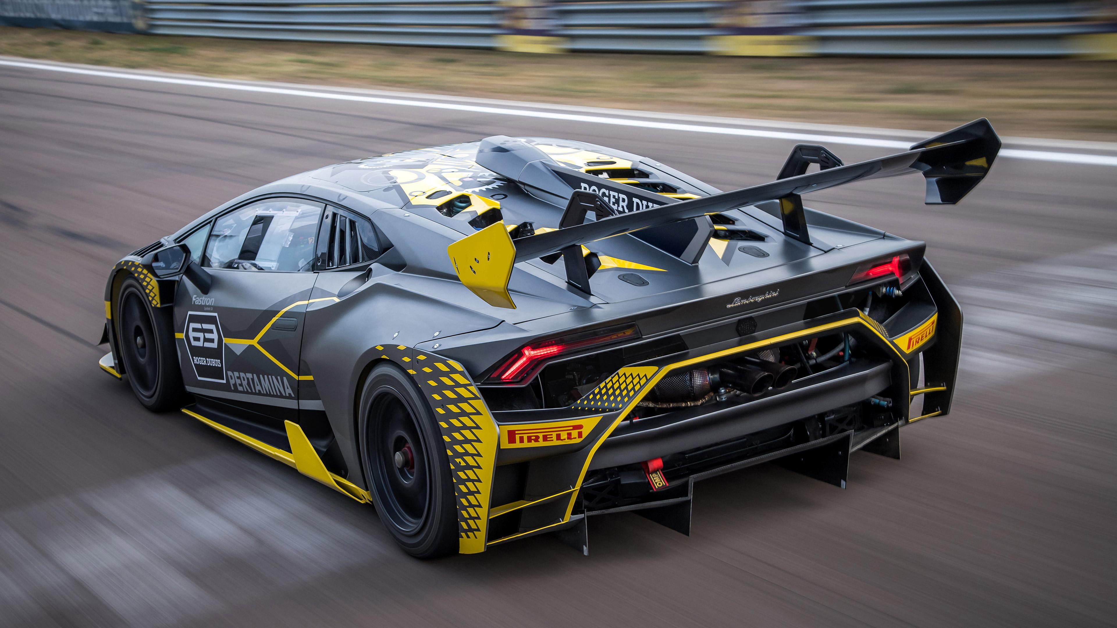 Car Race Car Lamborghini 3840x2160