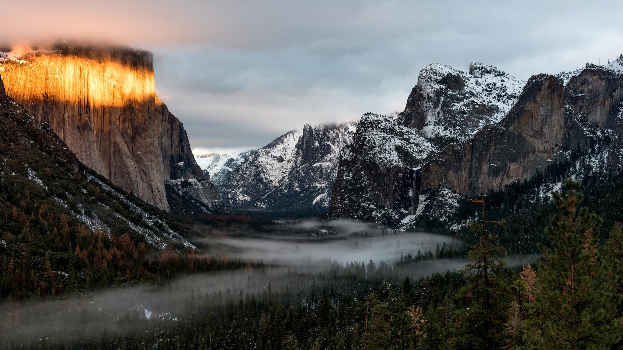 Mountain Nature Usa 2048x1152