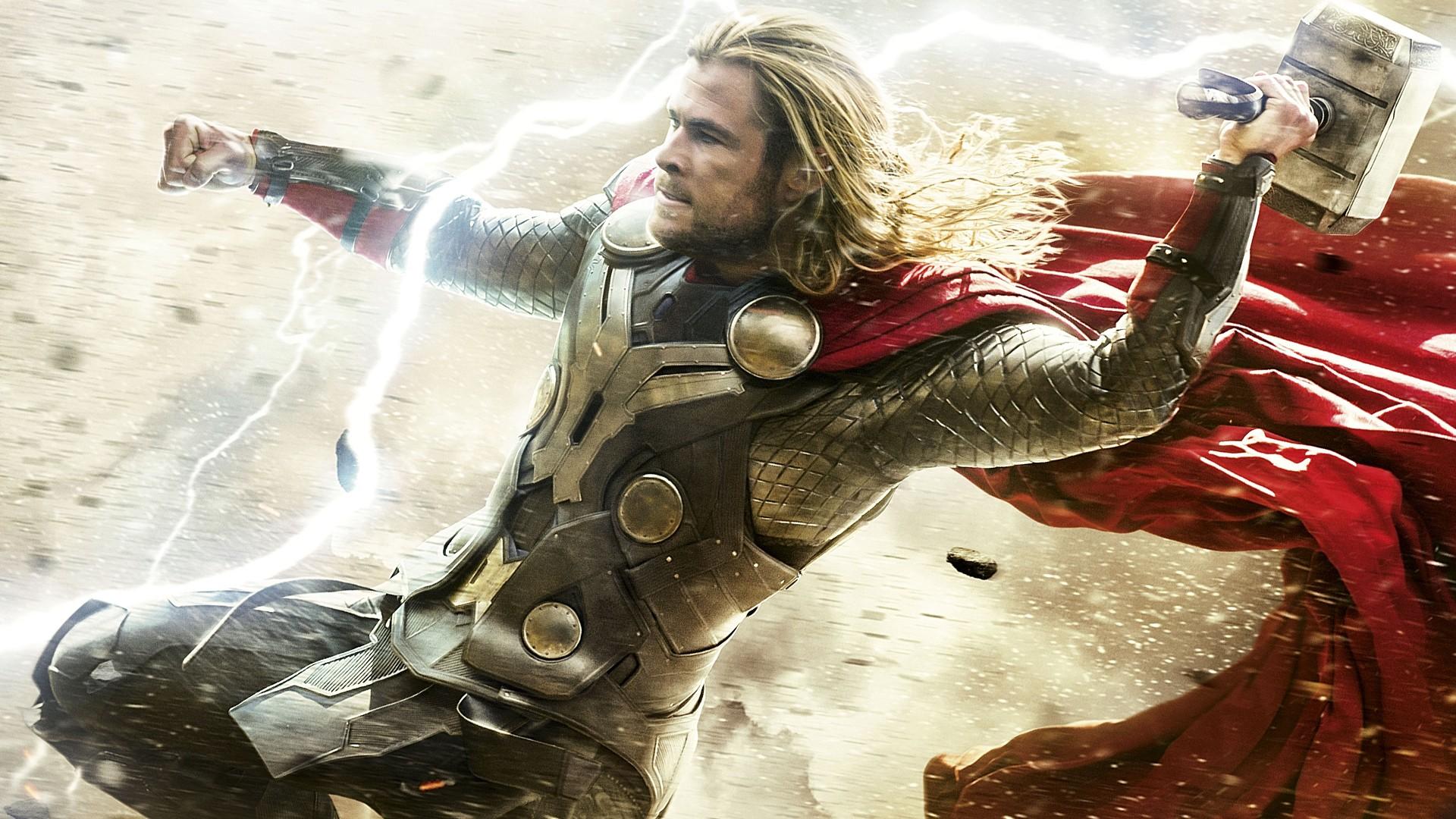 Thor Chris Hemsworth Superhero Marvel Comics 1920x1080