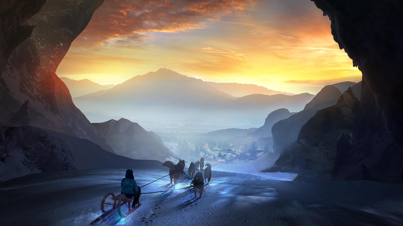 Digital Art T1na Fantasy Art 1600x900