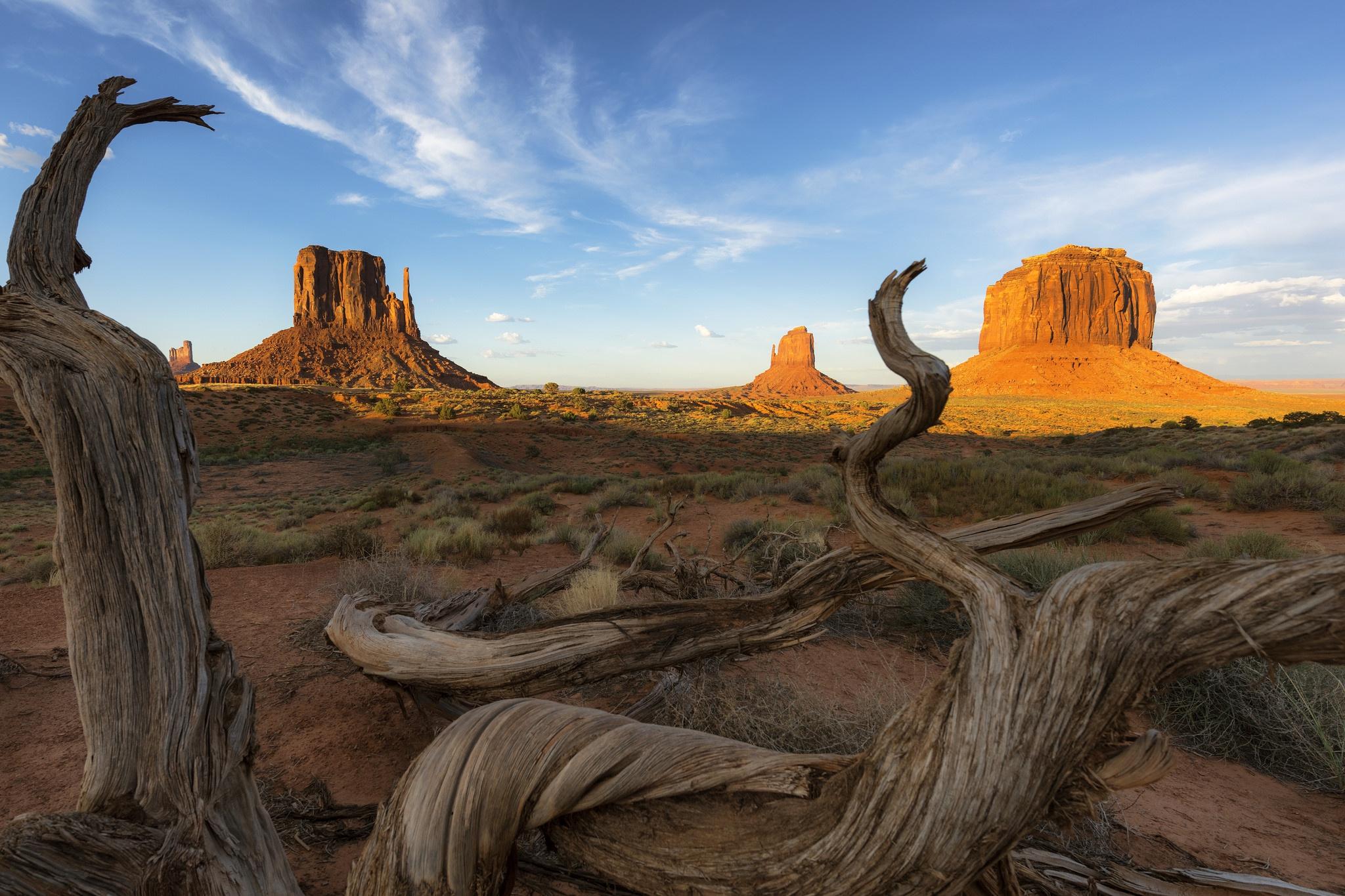 Usa Desert Landscape Sky Rock Nature 2048x1365