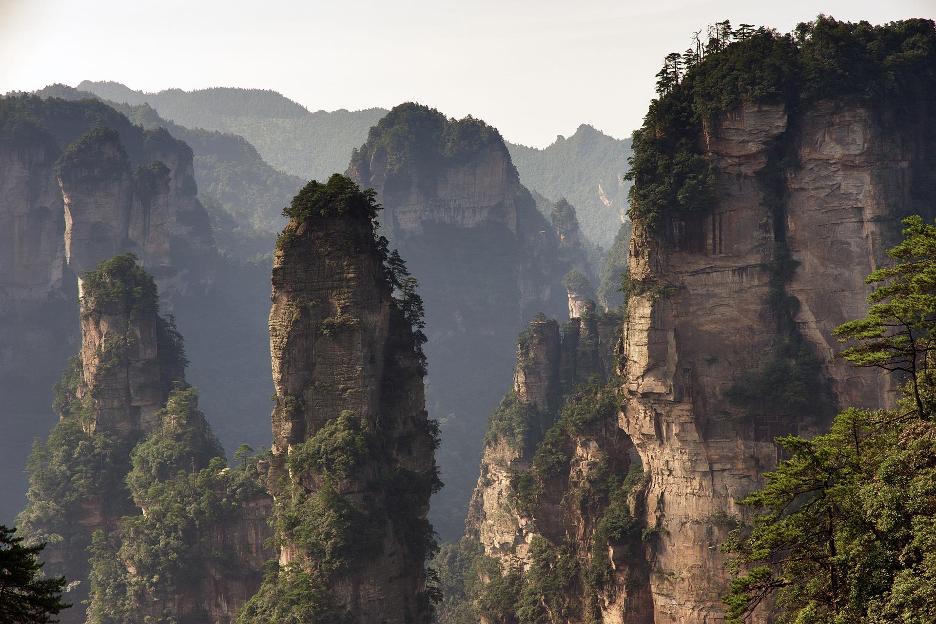 Zhangjiajie National Park China Landscape 1920x1280