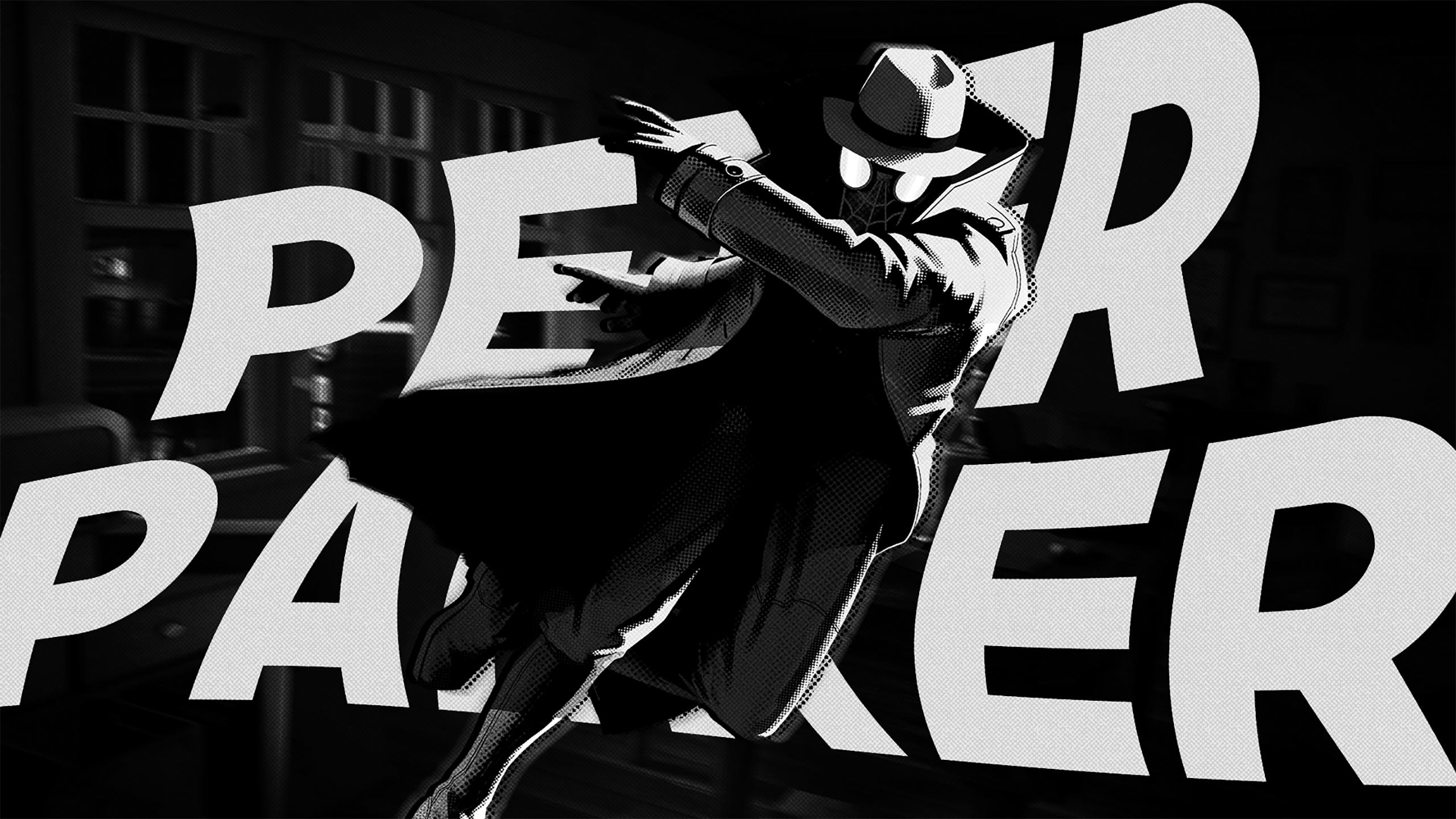 Spider Man Noir Marvel Comics 2560x1440