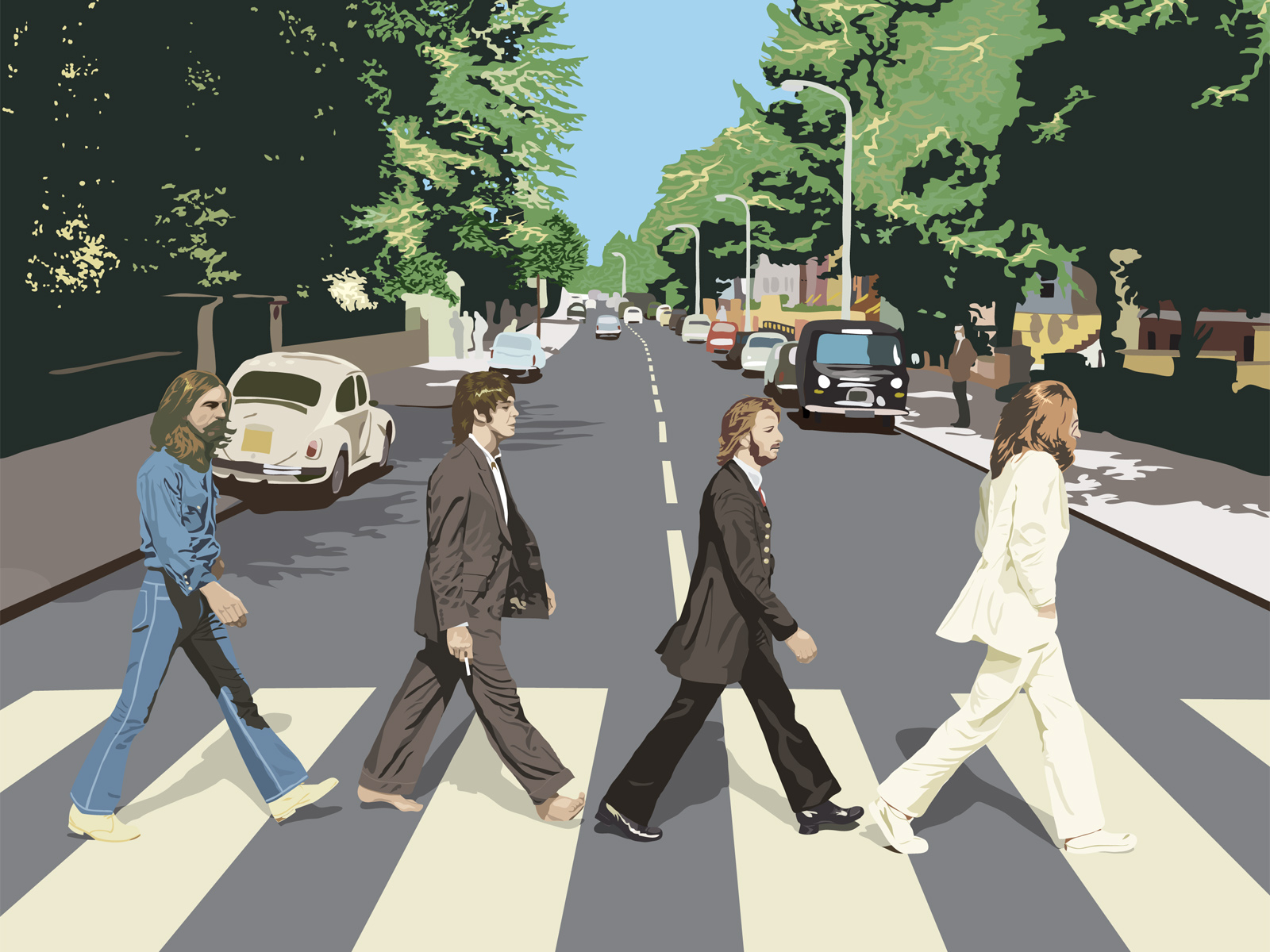 Music The Beatles 1600x1200