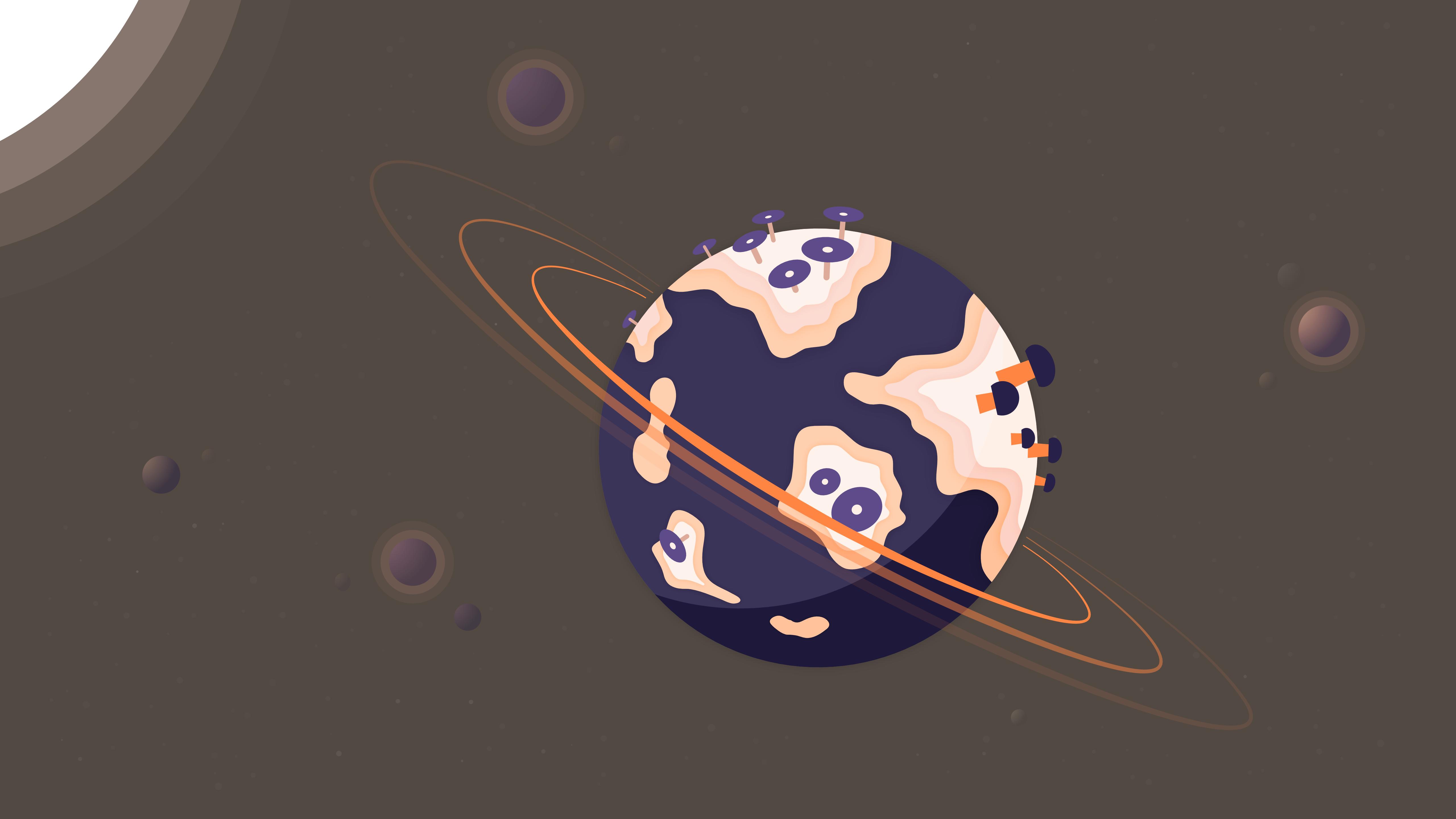 Planetary Ring 5120x2880