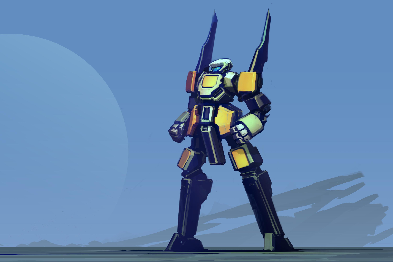 Sci Fi Robot 3000x2000
