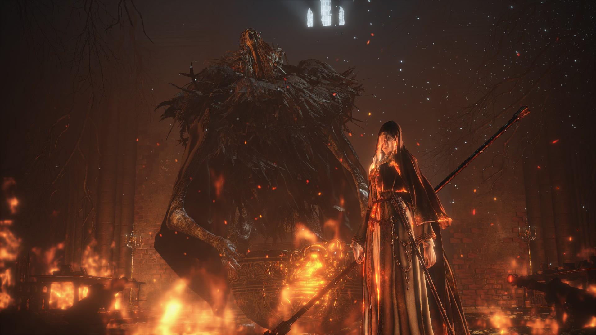 Ariandel Dark Souls Dark Souls Iii Friede Dark Souls 1920x1080