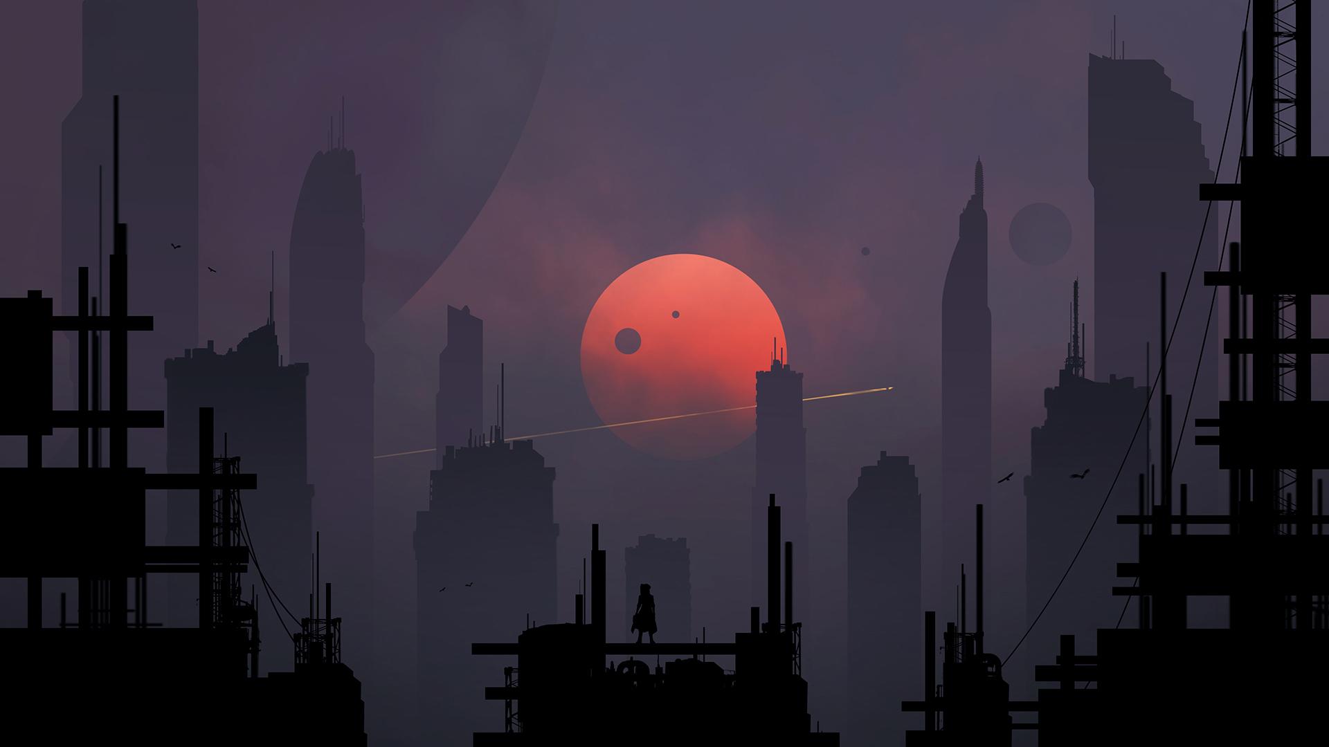 Sci Fi City 1920x1080