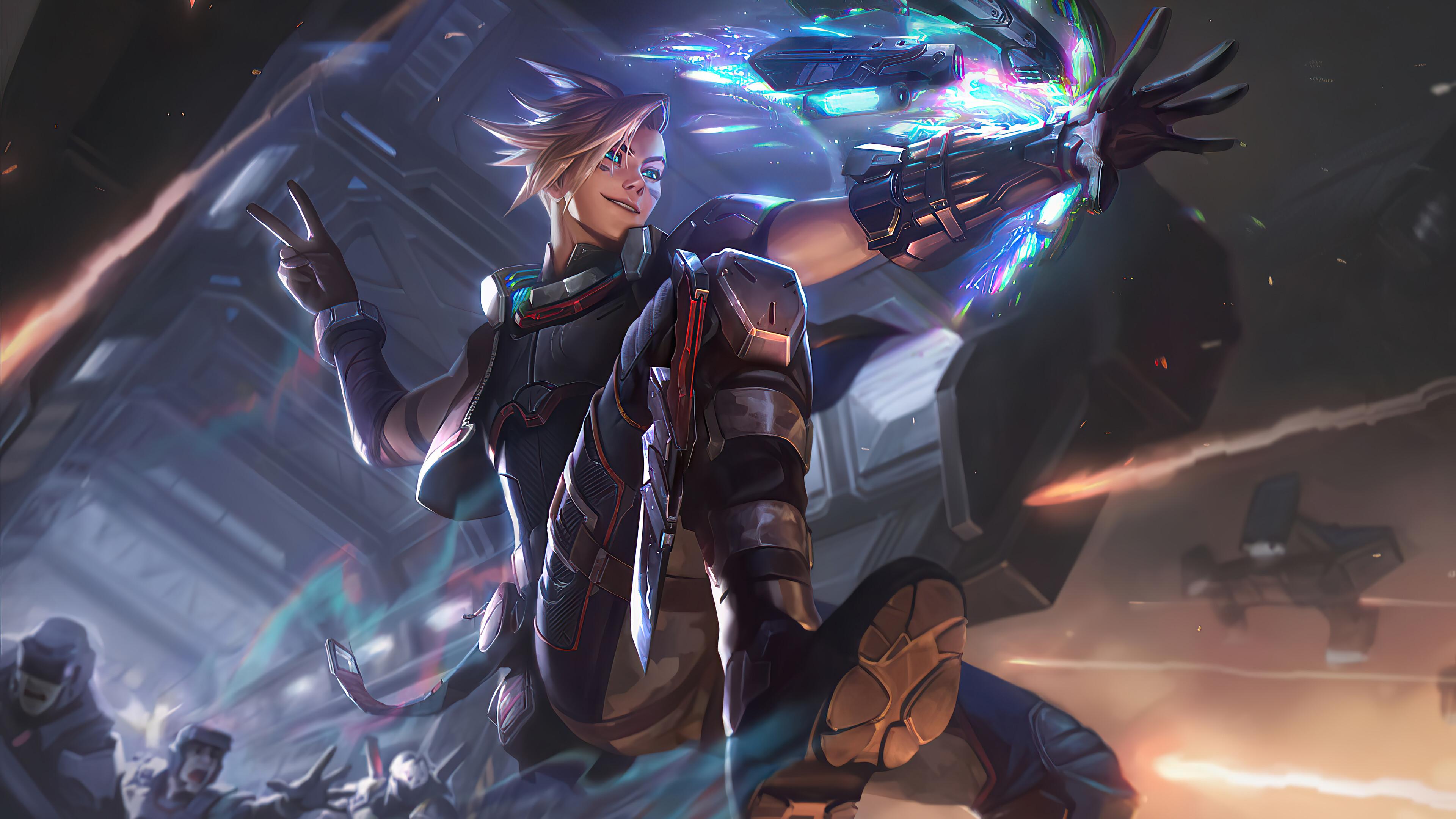 Ezreal League Of Legends 3840x2160