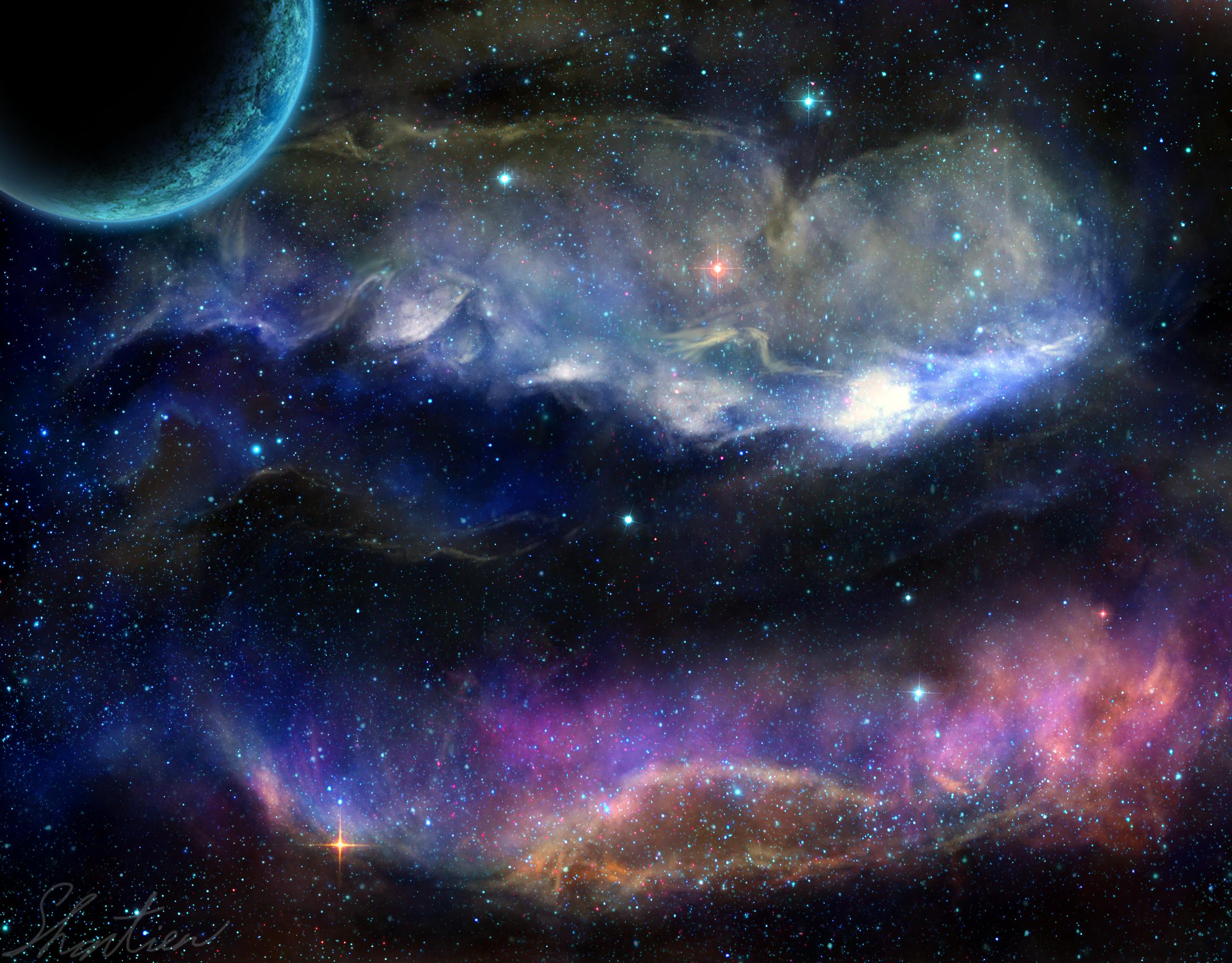 Sci Fi Space 2560x2000