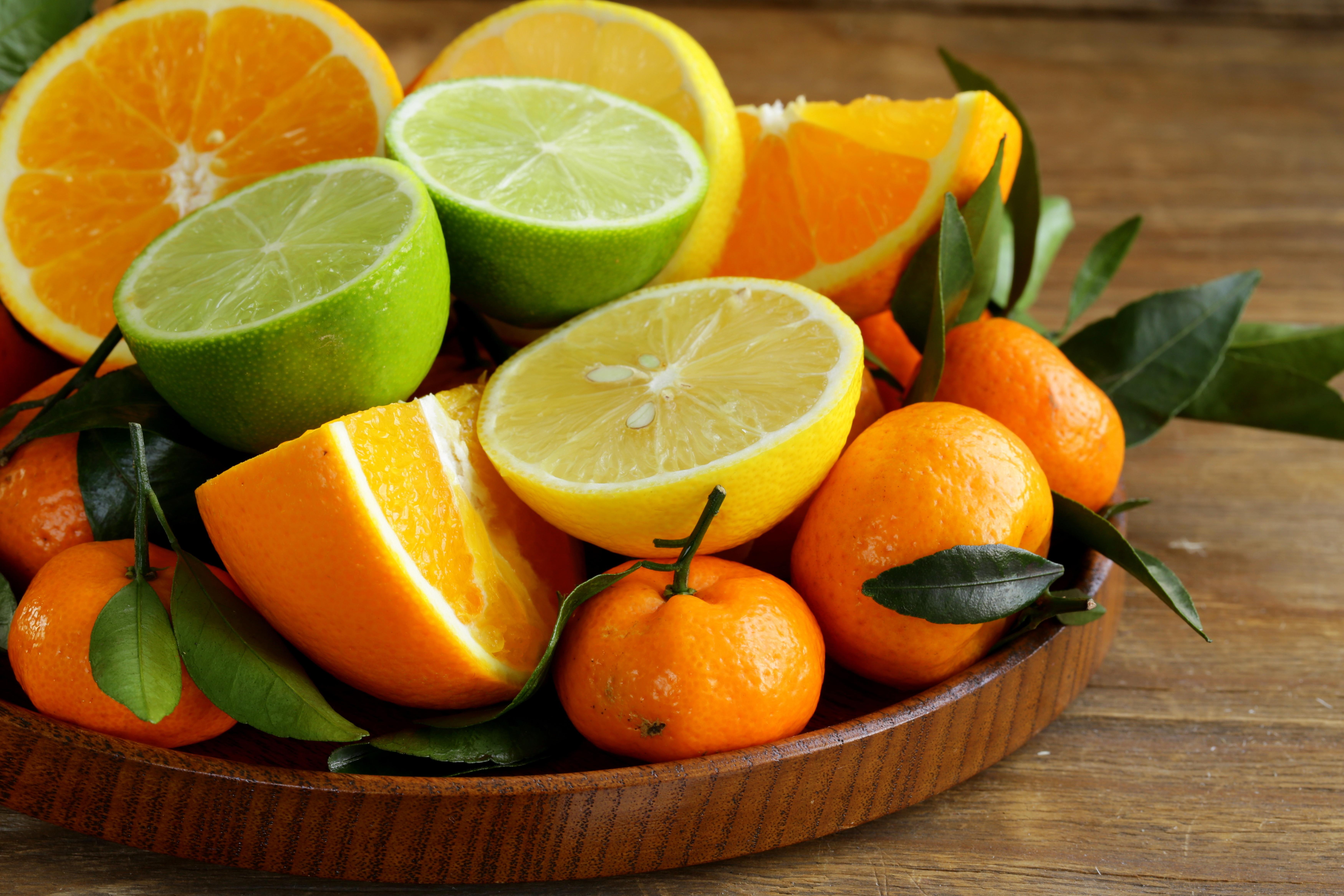 Orange Fruit Lime Lemon Mandarin 7000x4667