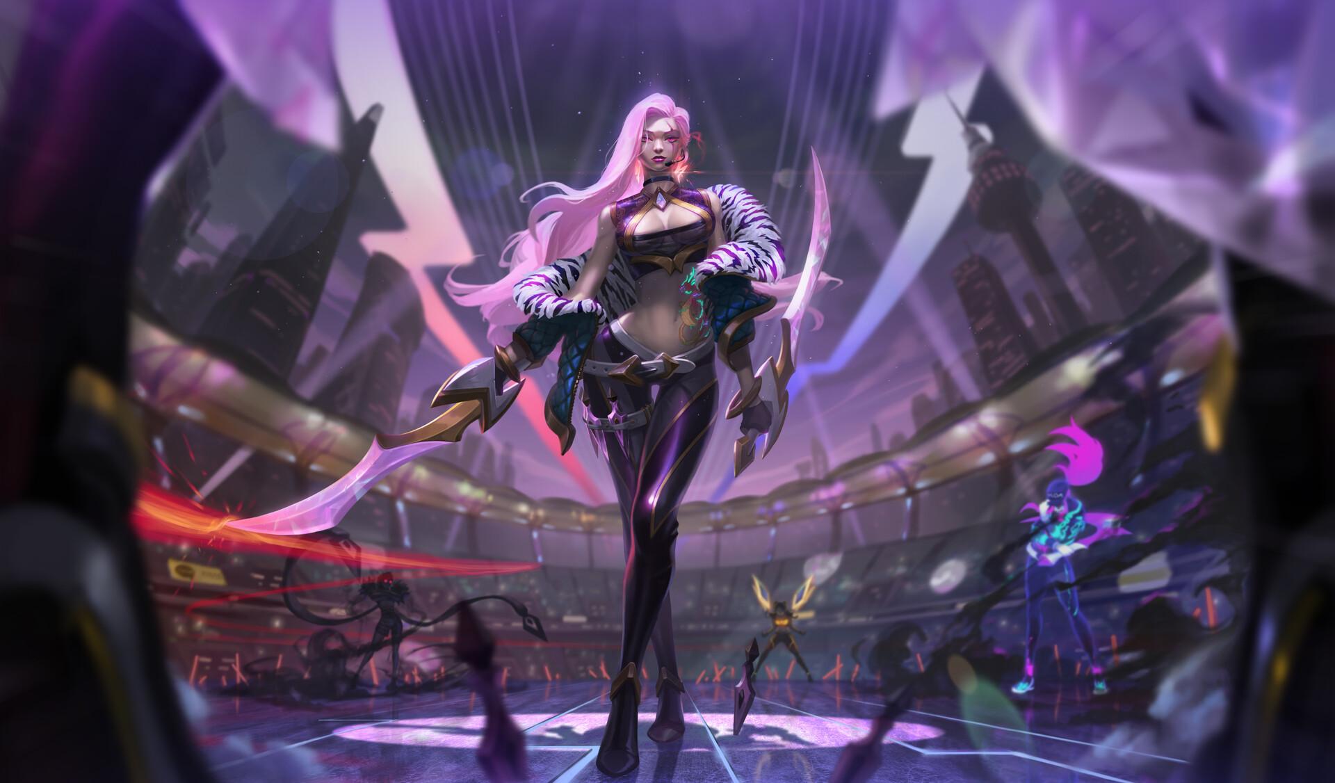 Katarina League Of Legends 1920x1126