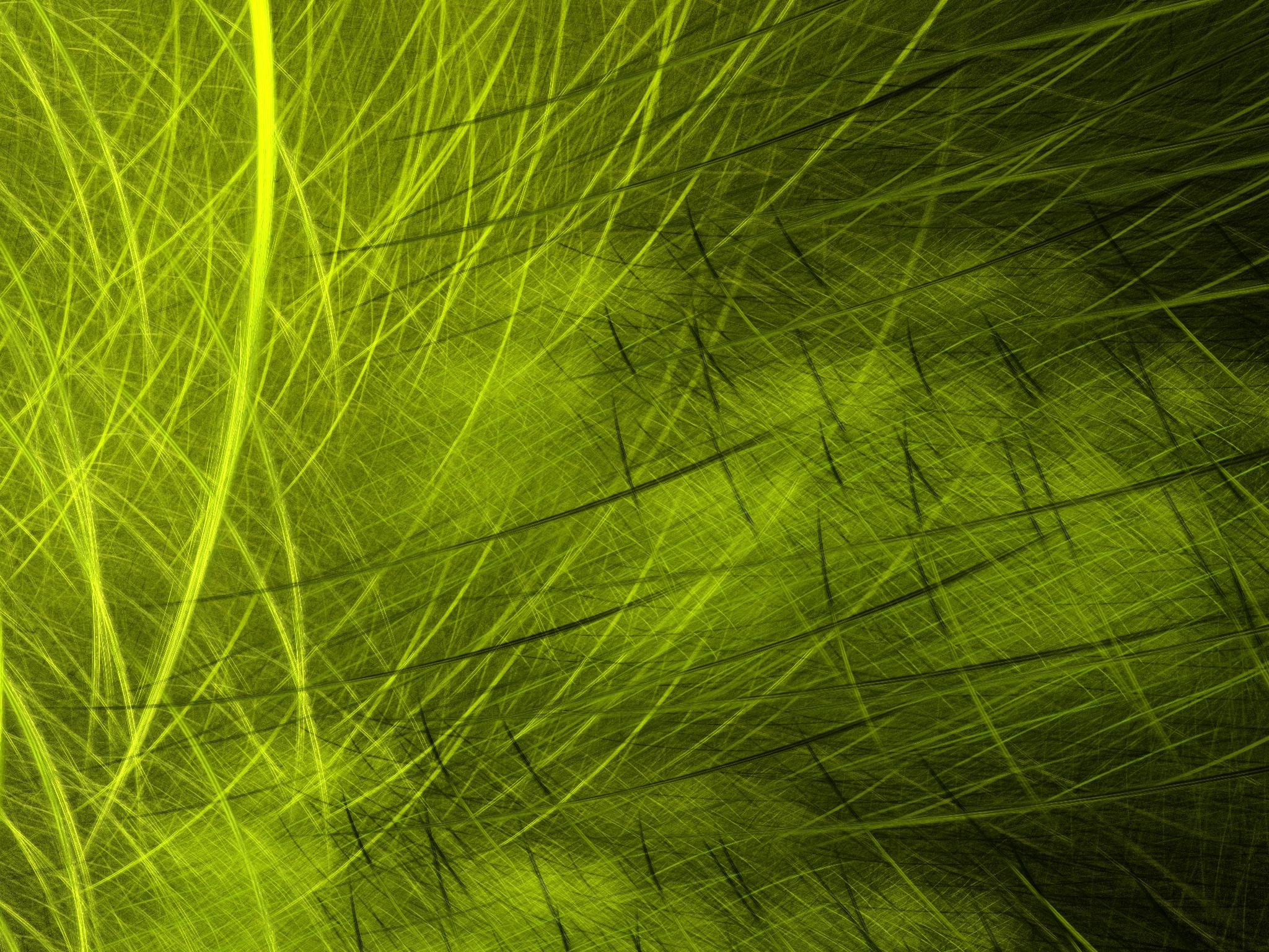 Apophysis Software Green Lines Digital Art Artistic 2048x1536