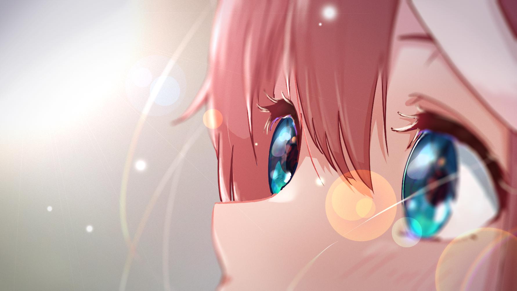 Anime Anime Girls Closeup Eyes Uma Musume Pretty Derby Tokai Teio Uma Musume 1782x1002
