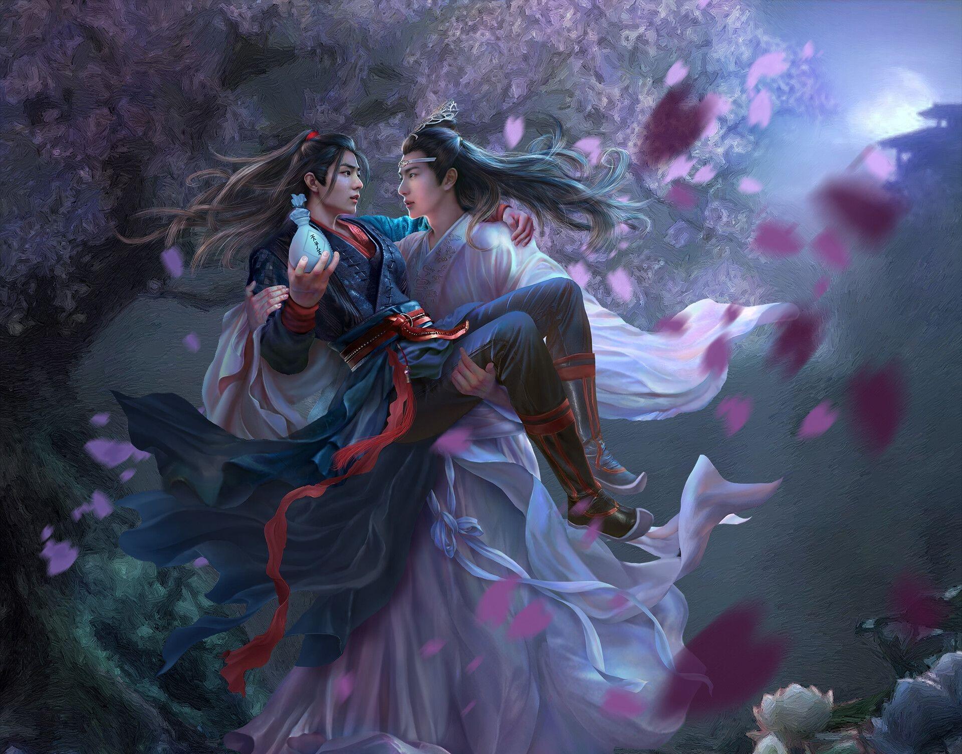 Lan Wangji Lan Zhan Wang Yibo Wei Wuxian Wei Ying Xiao Zhan 1920x1504
