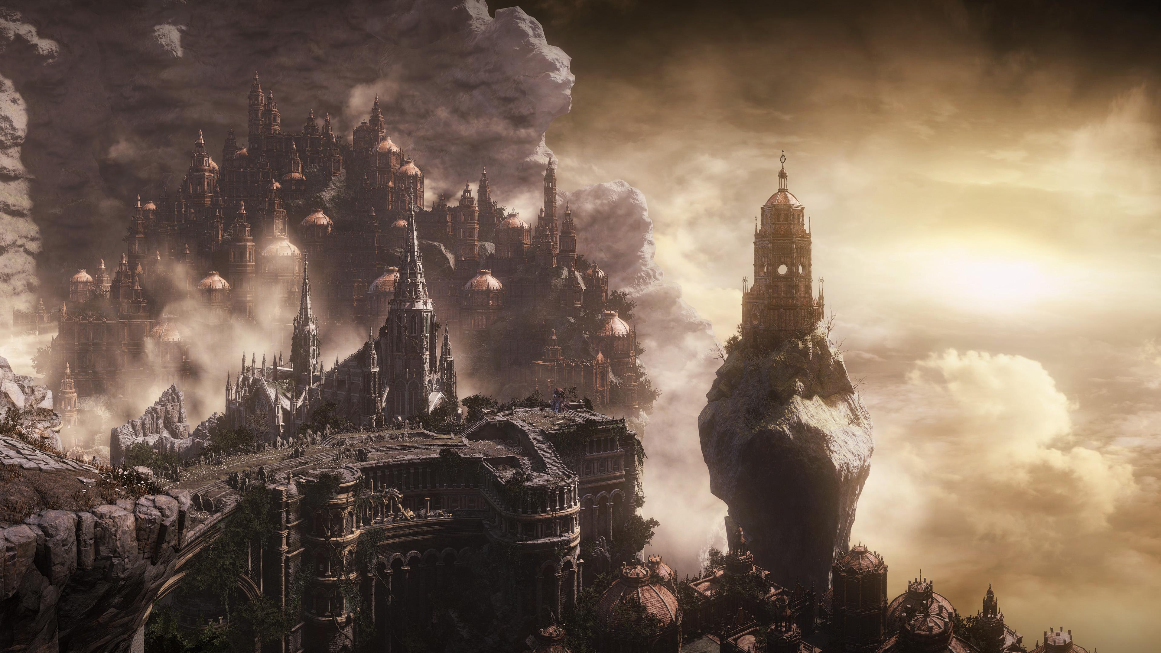 City Fantasy 3840x2160