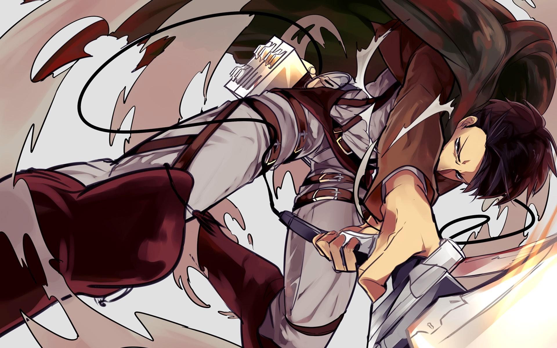 Shingeki No Kyojin Levi Ackerman 1920x1200