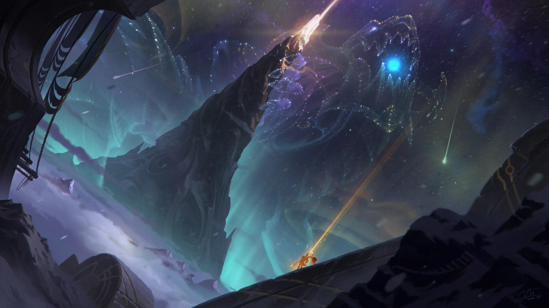 Aurelion Sol League Of Legends 1920x1080