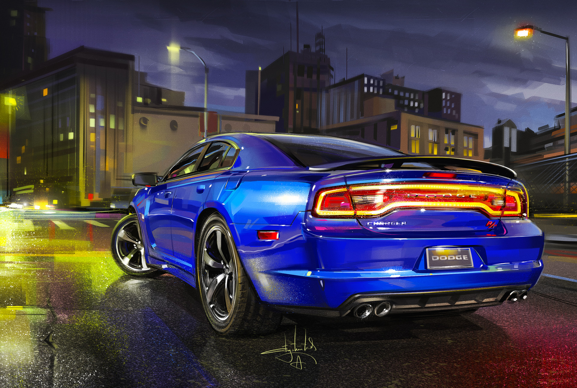 Vehicles Dodge Charger R T 1920x1290