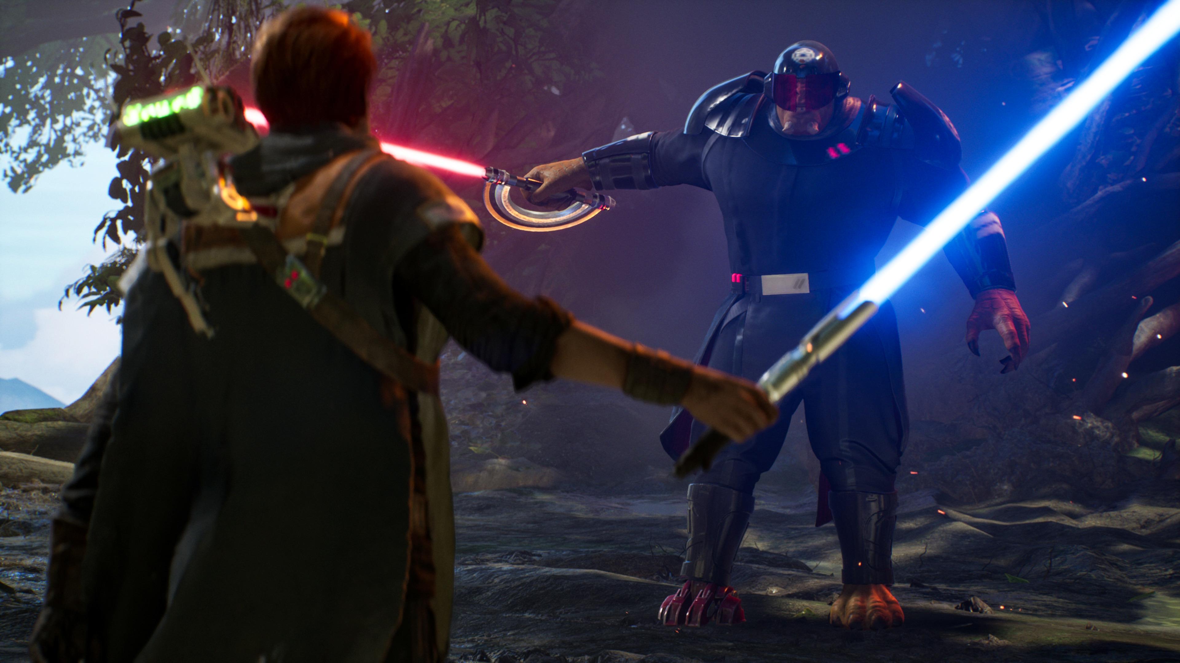 Star Wars Jedi Lightsaber Cal Kestis 3840x2160