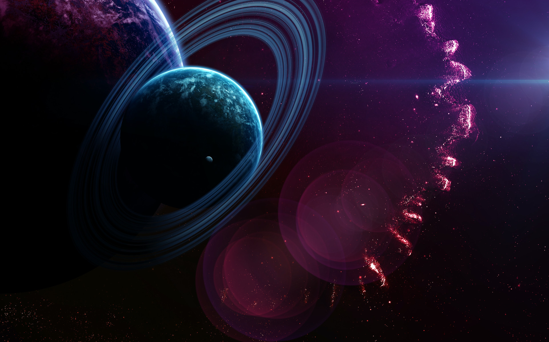 Sci Fi Nebula 1920x1196