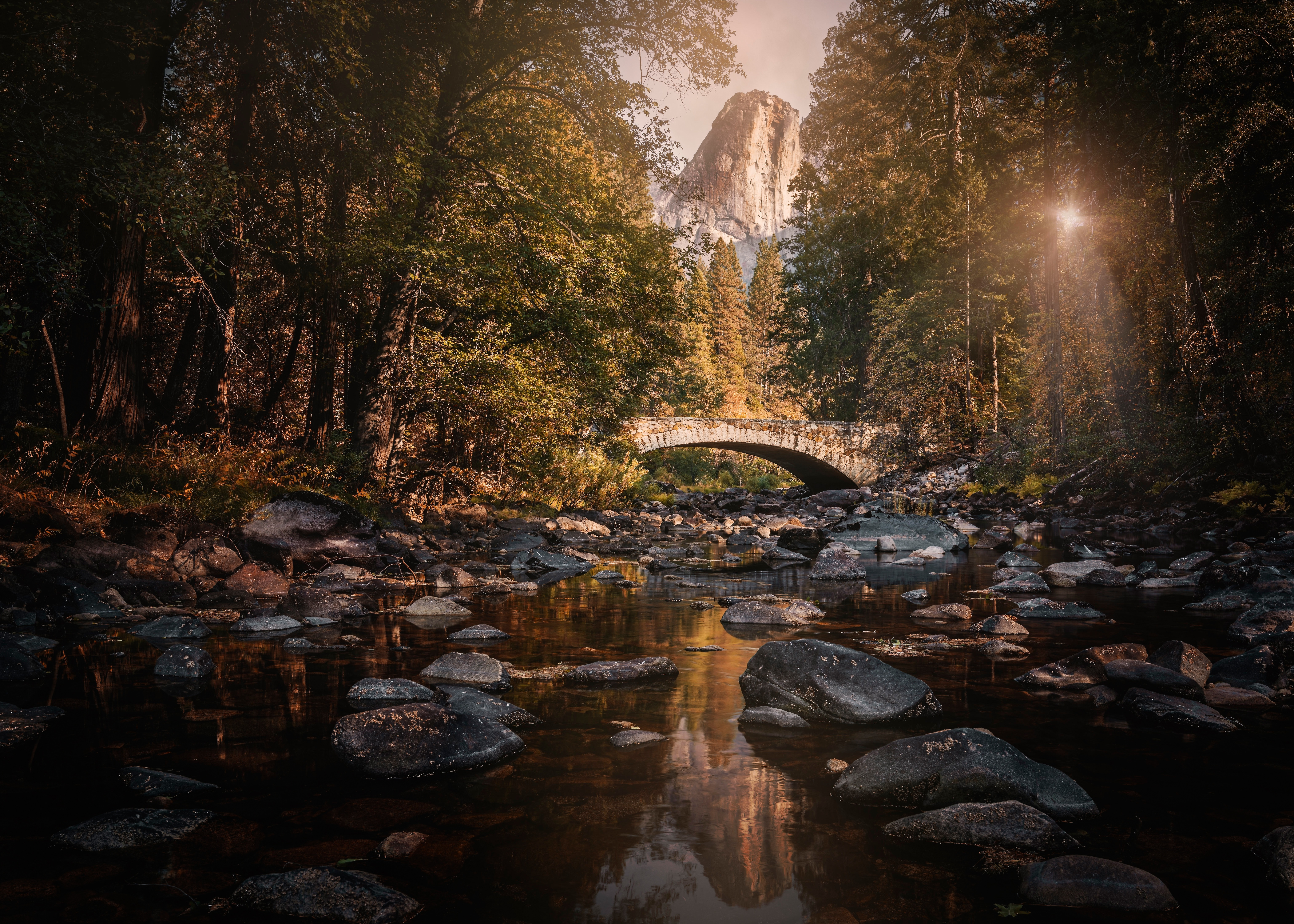 Bridge River Rock Usa 6144x4389