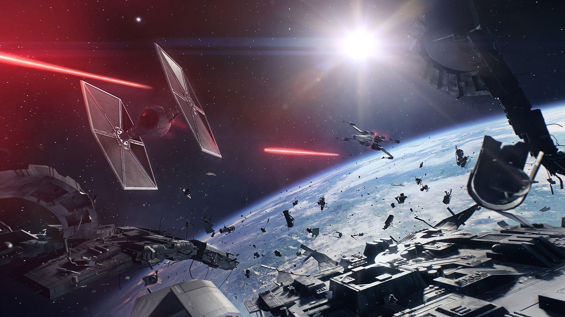 Futuristic Sci Fi Star Wars 1920x1080