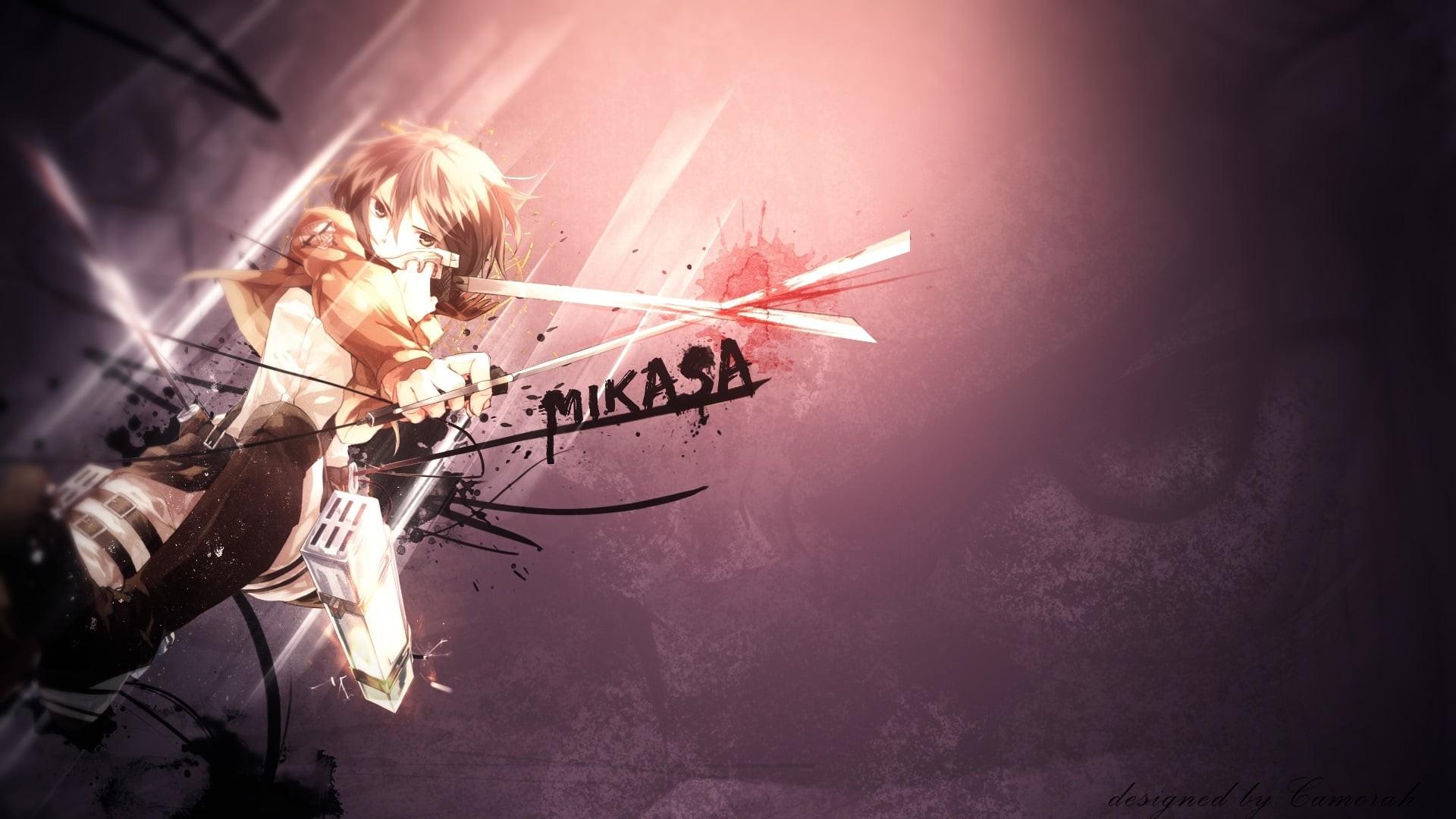 Mikasa Ackerman 1920x1080