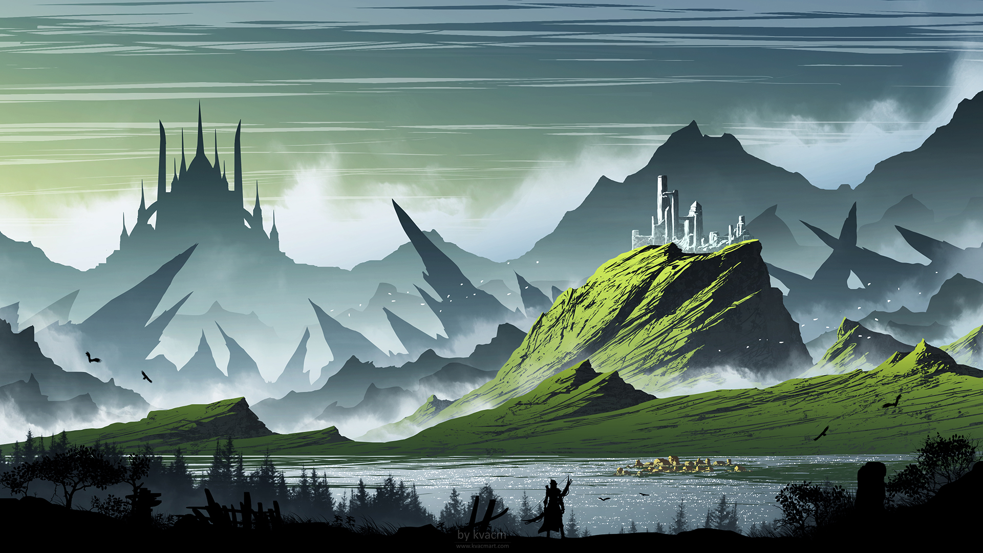 Fantasy Landscape 1920x1080