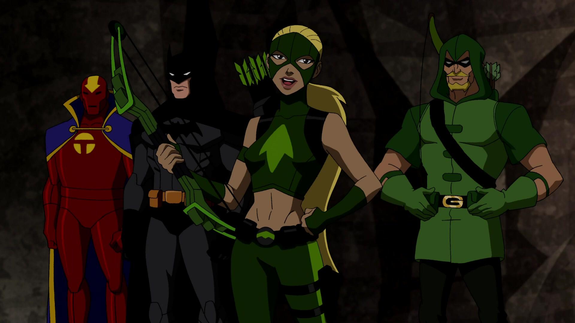 Artemis Crock Batman Green Arrow Oliver Queen Red Tornado Arrowette Dc Comics Man Young Justice Tv S 1920x1080