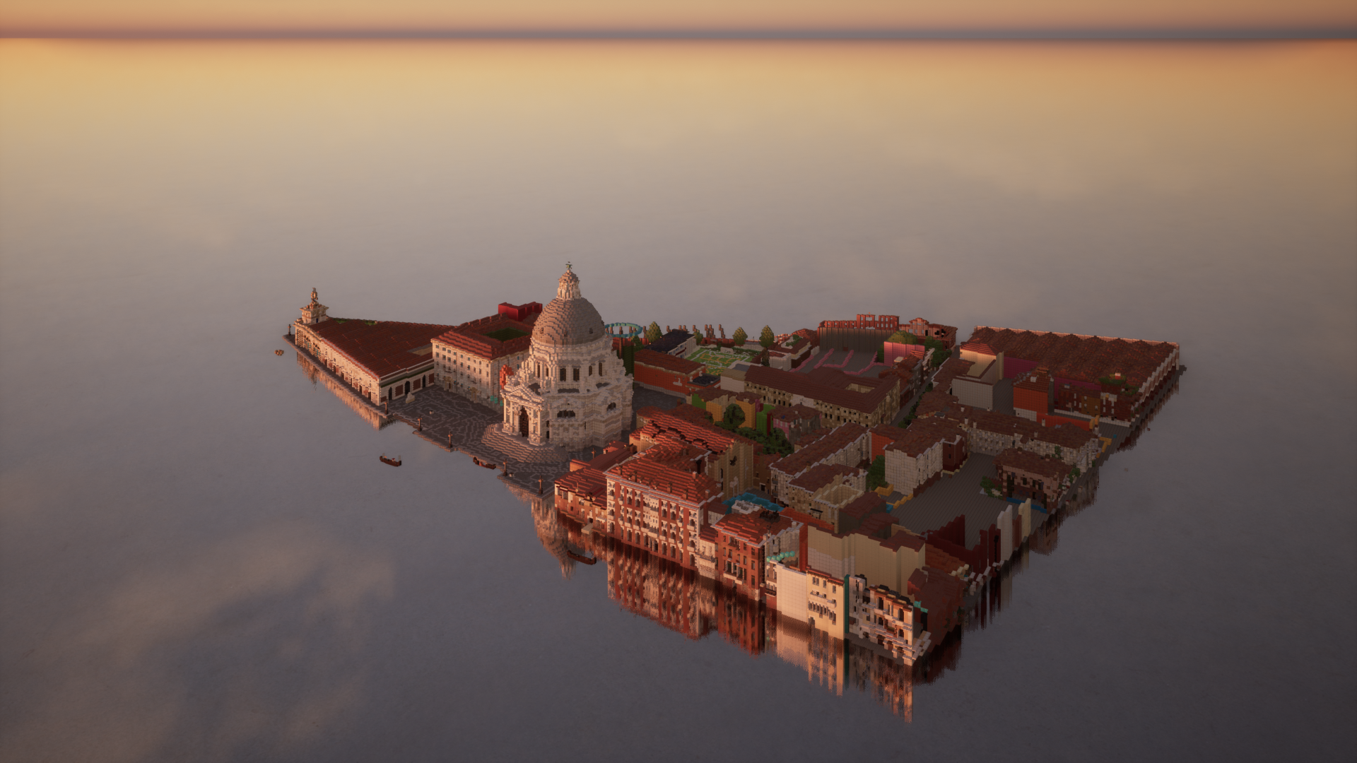 Italy Venice Basilica 1920x1080