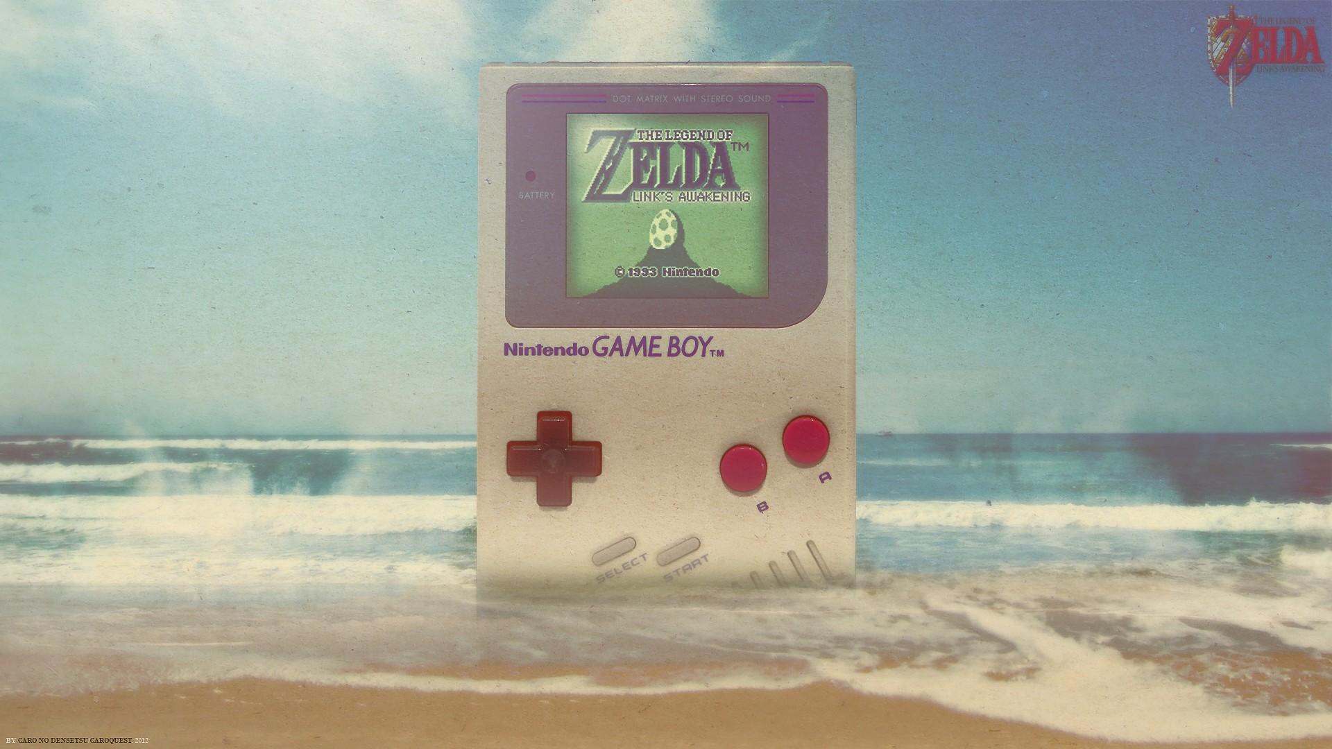 Gameboy The Legend Of Zelda The Legend Of Zelda Links Awakening Wallpaper Resolution 1920x1080 Id 121730 Wallha Com