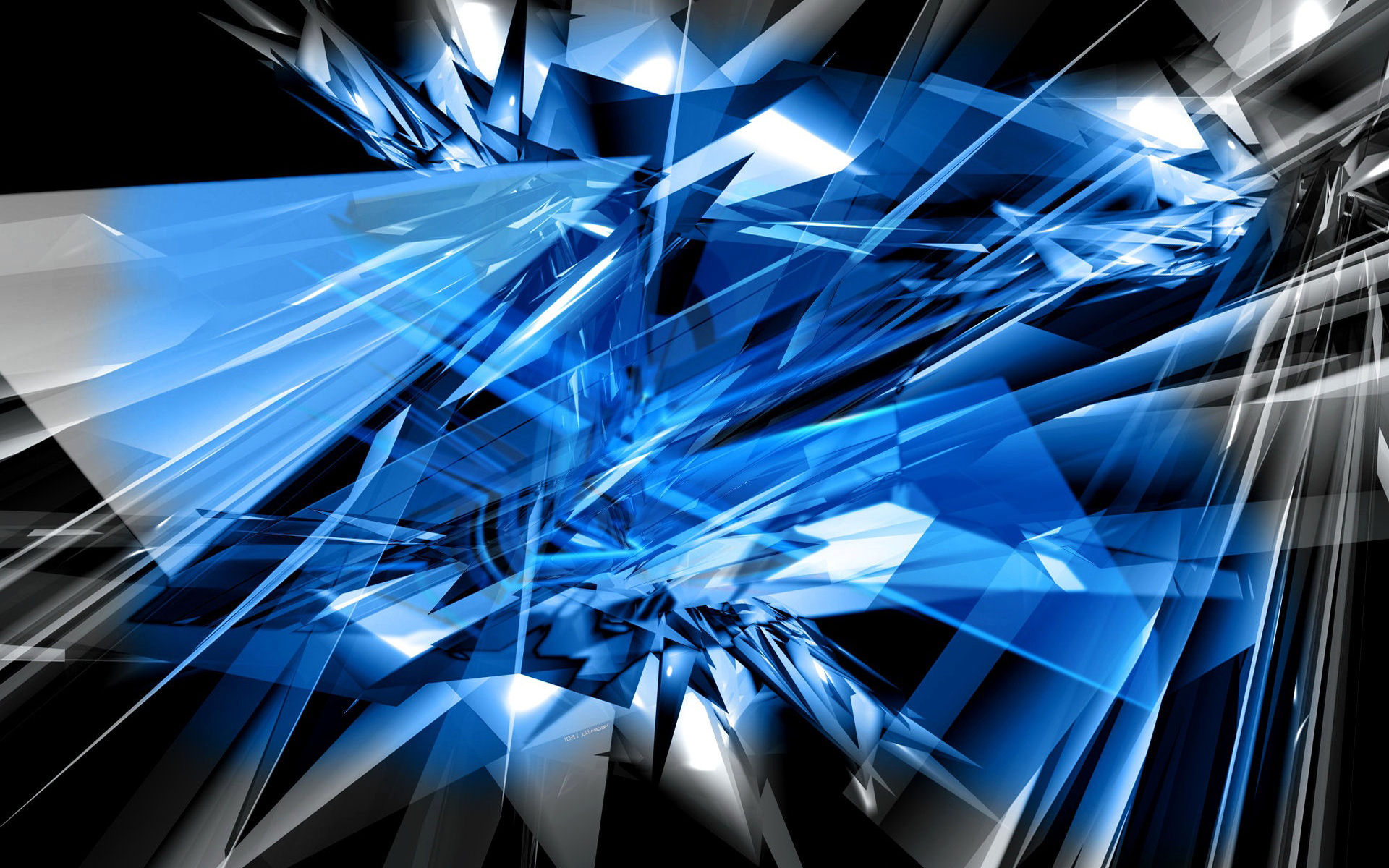 Abstract Blue 1920x1200