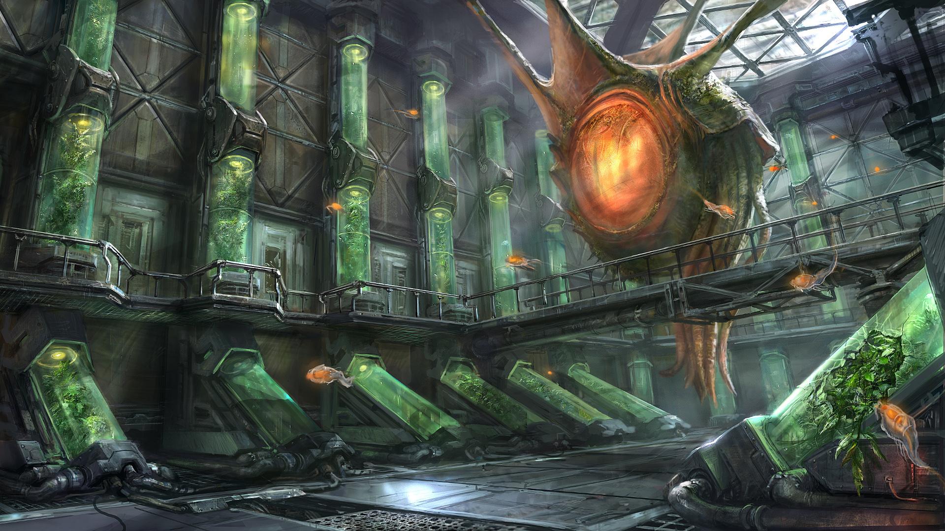 Sci Fi Alien 1920x1080
