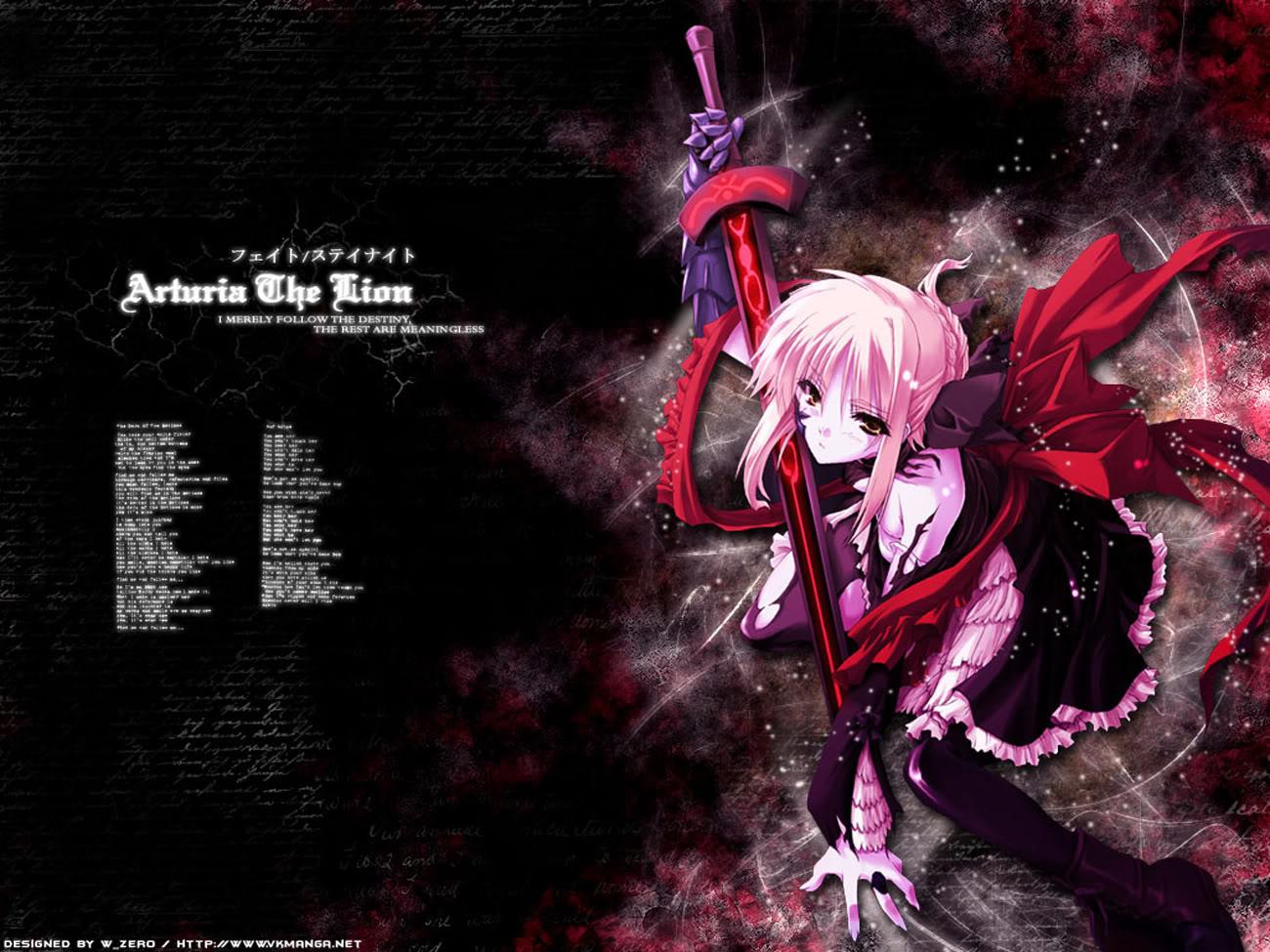 Fate Stay Night Knight Saber Alter Wallpaper Resolution 1300x975 Id 162662 Wallha Com