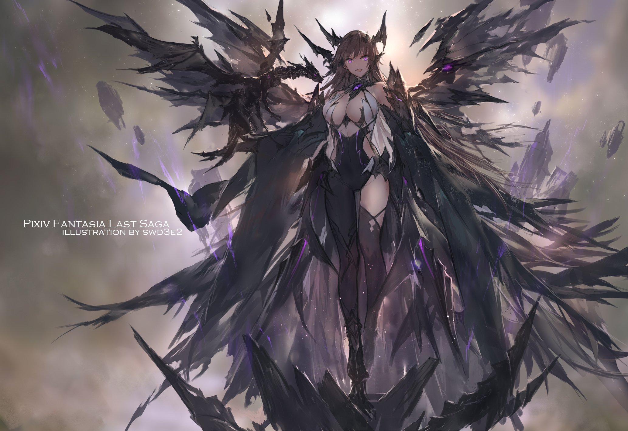 Pixiv Fantasia Anime Girls Anime Women Fantasy Girl Brunette Long Hair Smiling Wings Dragon Armor Fa Wallpaper Resolution 2067x1418 Id 172597 Wallha Com Hopefully i have some more time to work. pixiv fantasia anime girls anime women