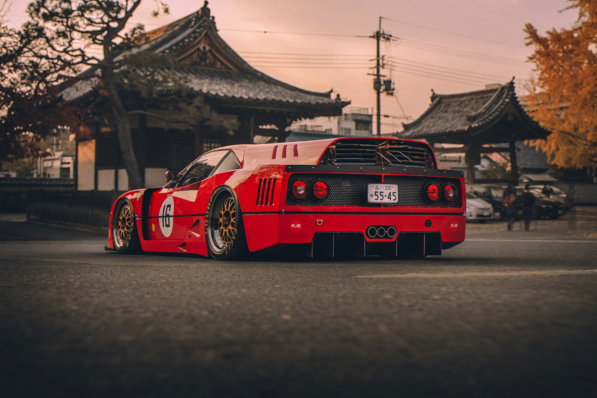 Ferrari Ferrari F40 Japan Wallpaper Resolution 1920x1281 Id 132025 Wallha Com