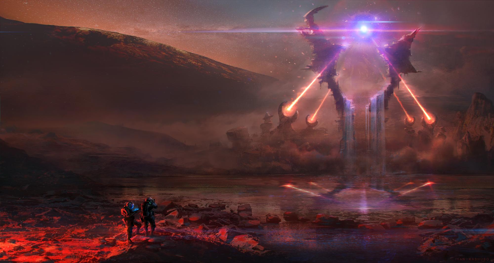 Sci Fi Landscape 2000x1064