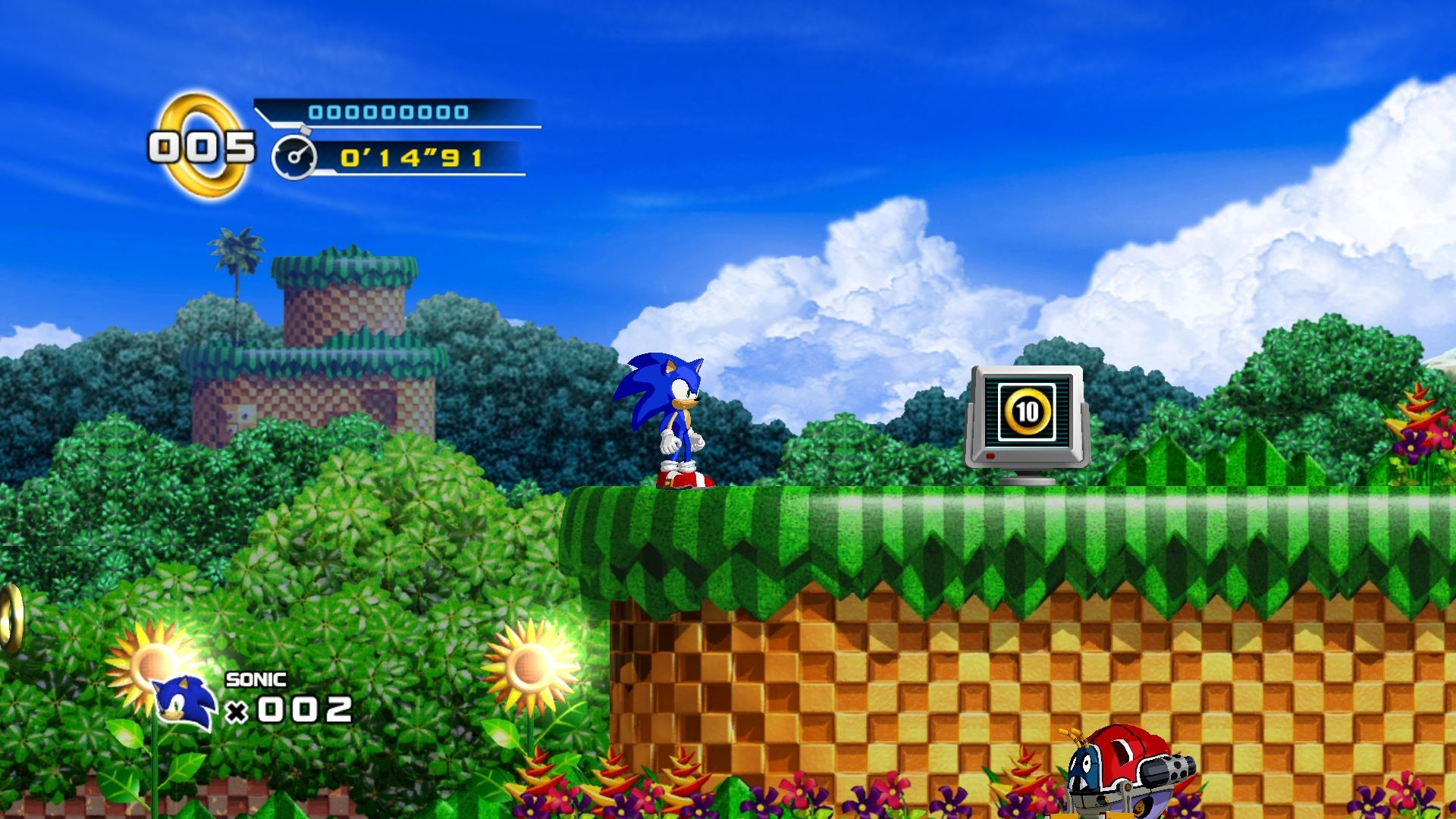 Video Game Sonic The Hedgehog 4 Episode I 1920x1080