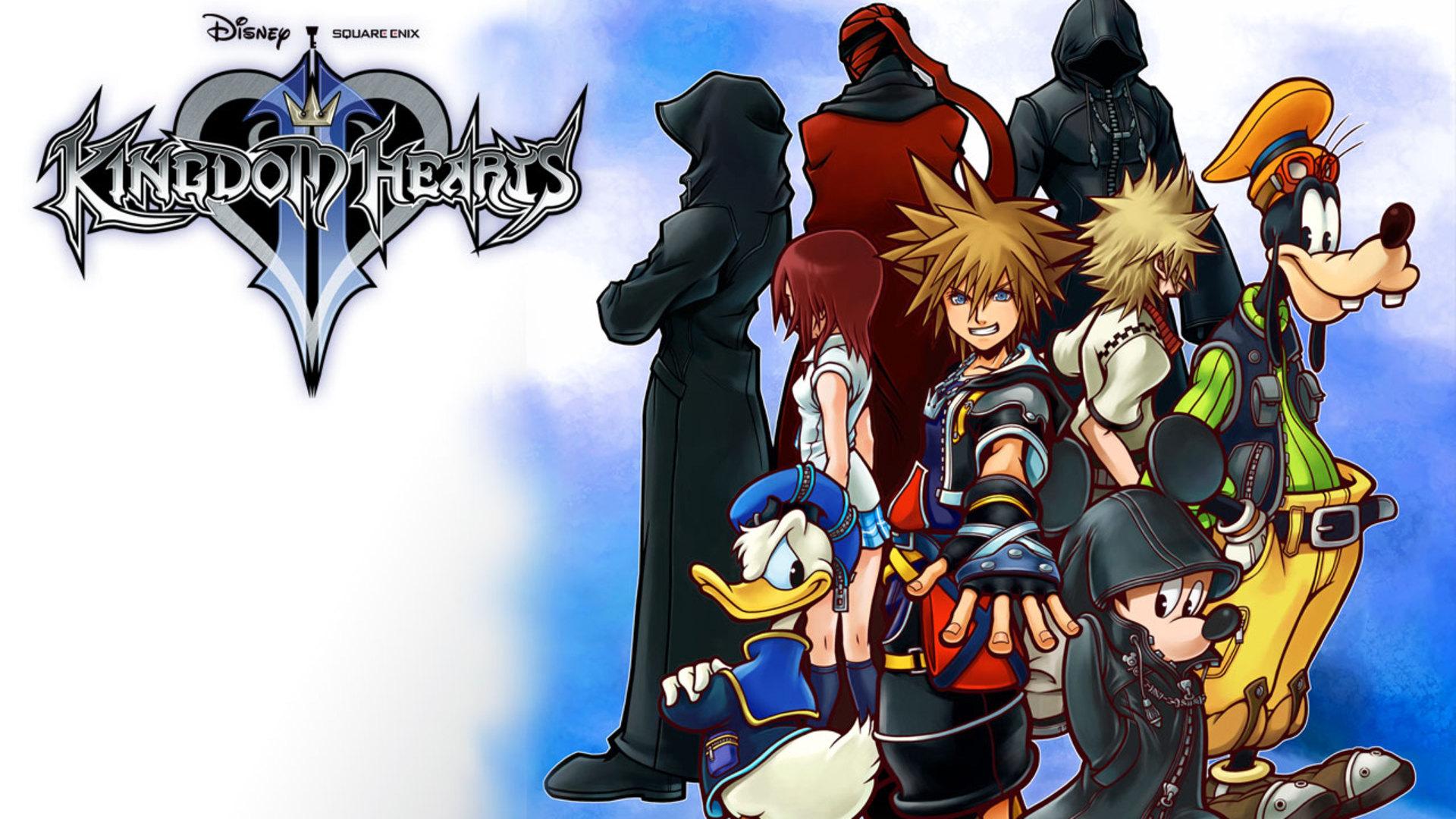 Video Game Kingdom Hearts Ii 1920x1080