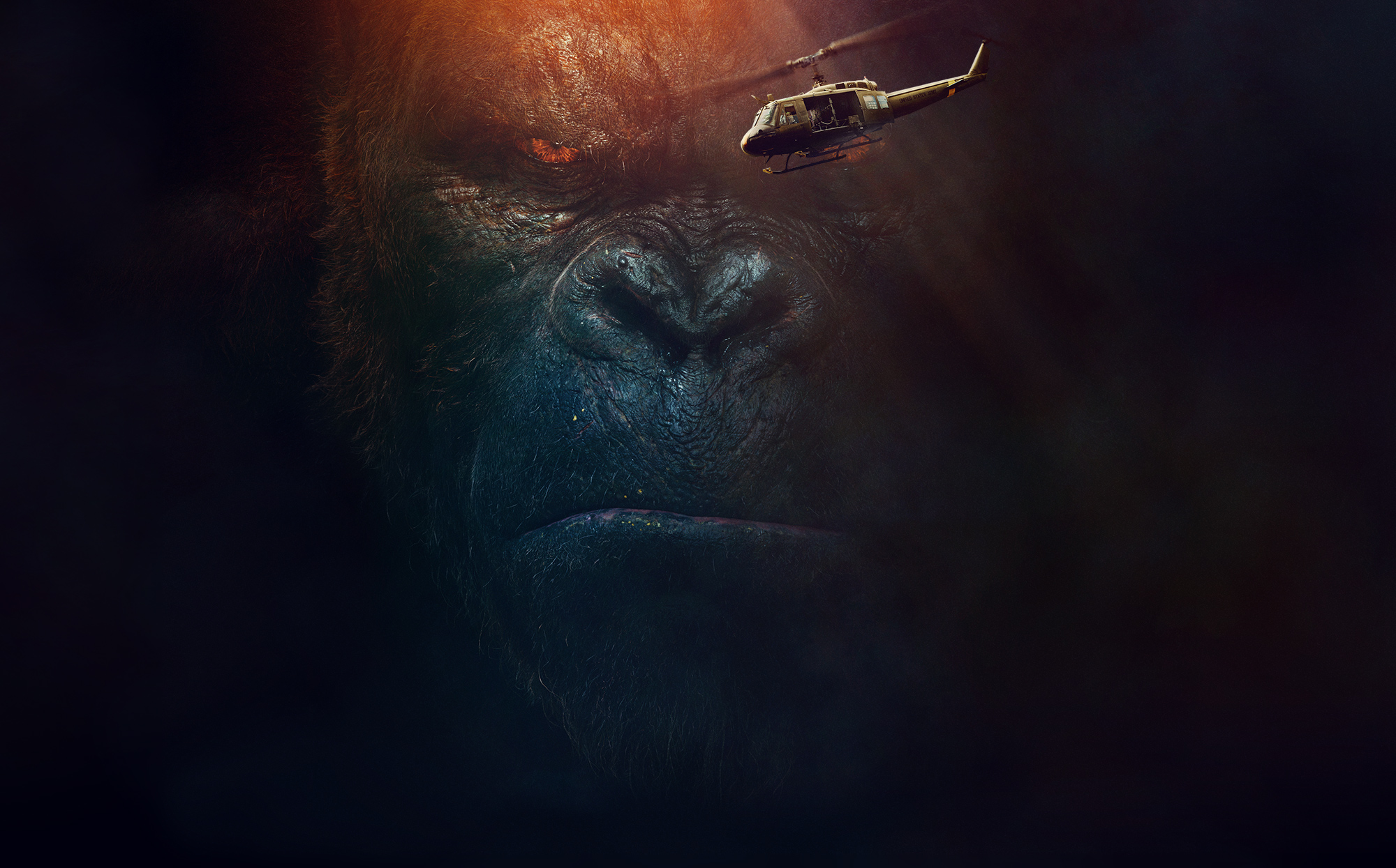 Gorilla Ape King Kong 2000x1245