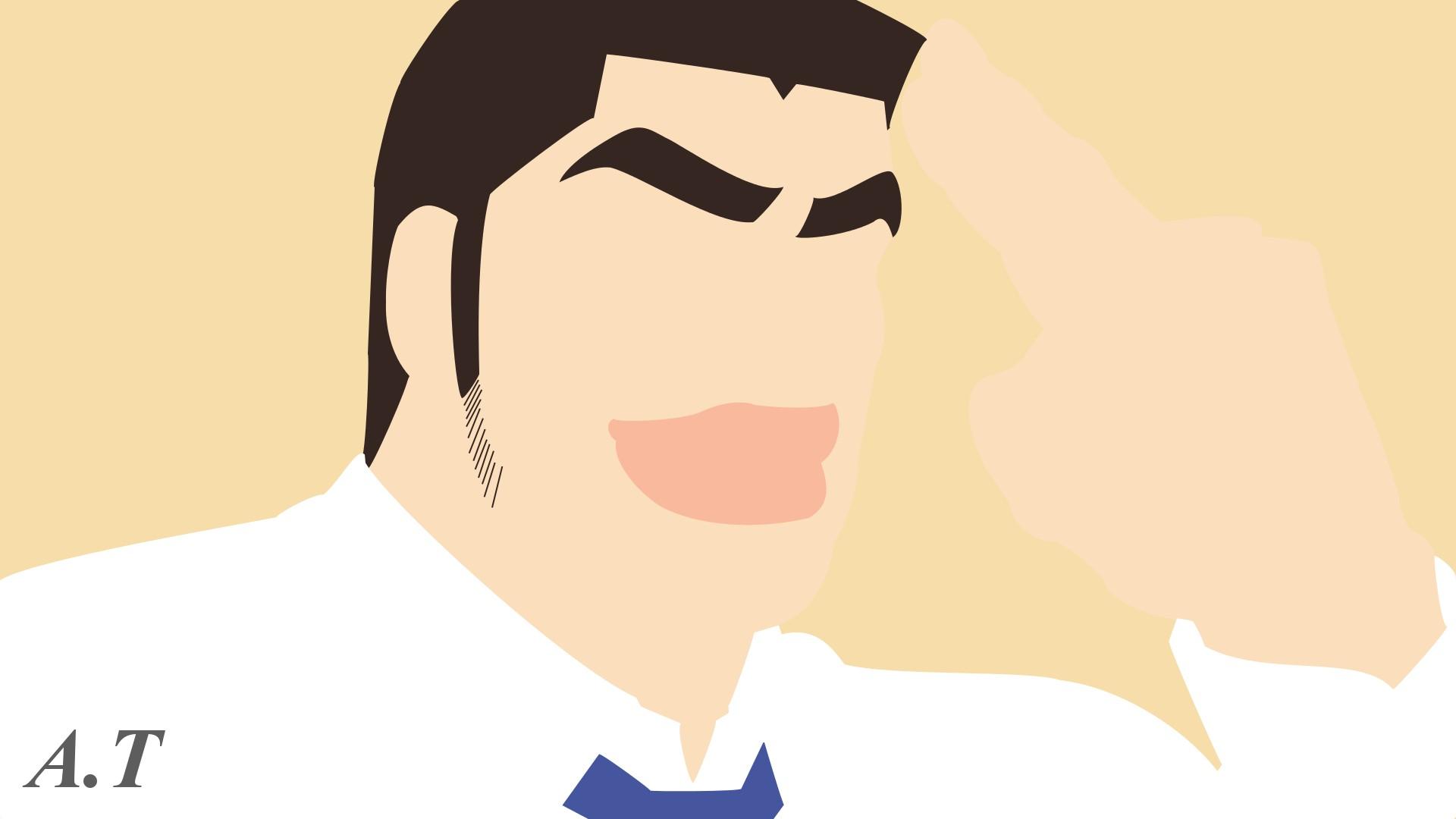 Ore Monogatari Gouda Takeo Anime Anime Men Beige 1920x1080